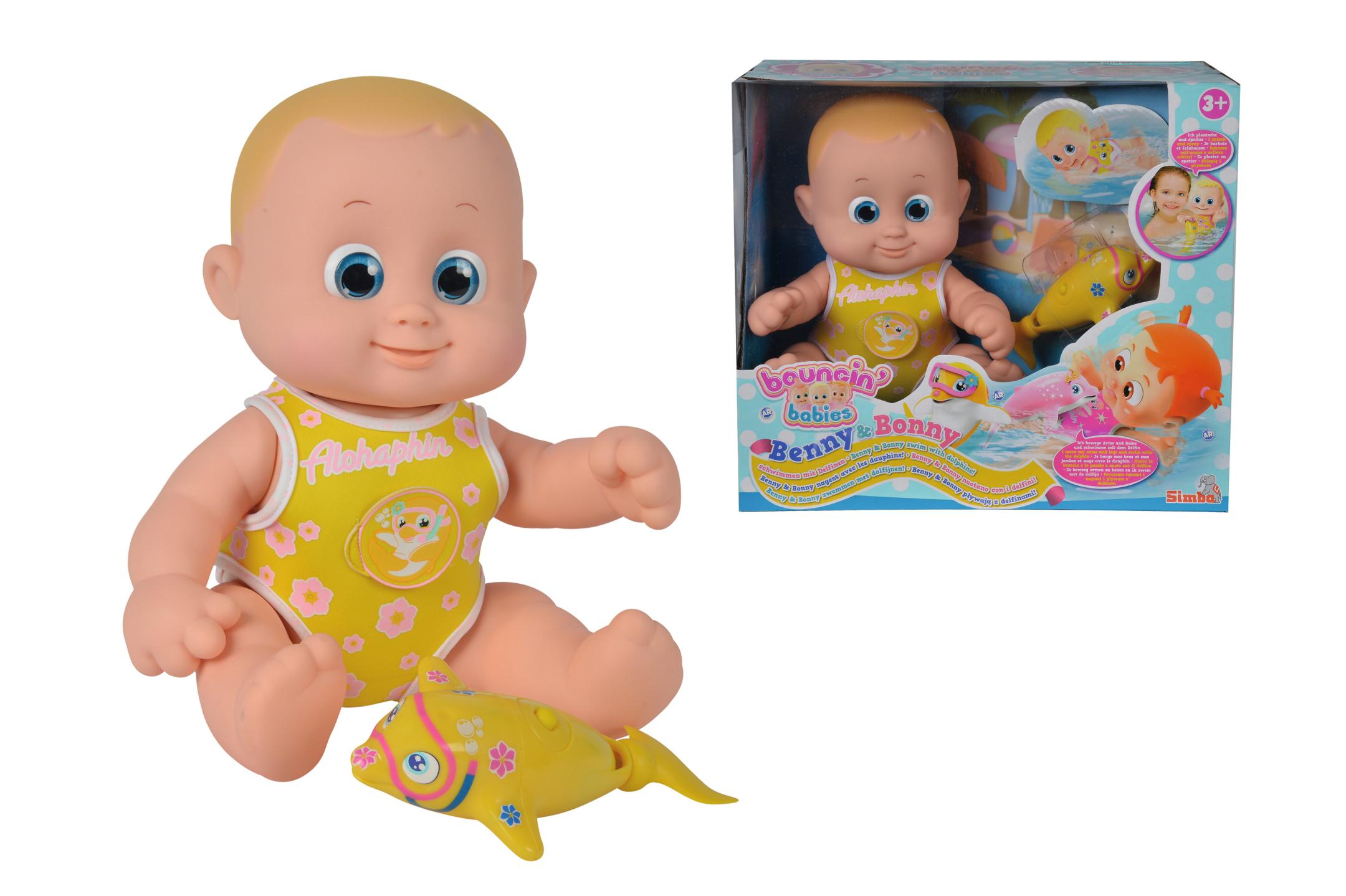 Bouncin Babies - Benny mit Delfin
