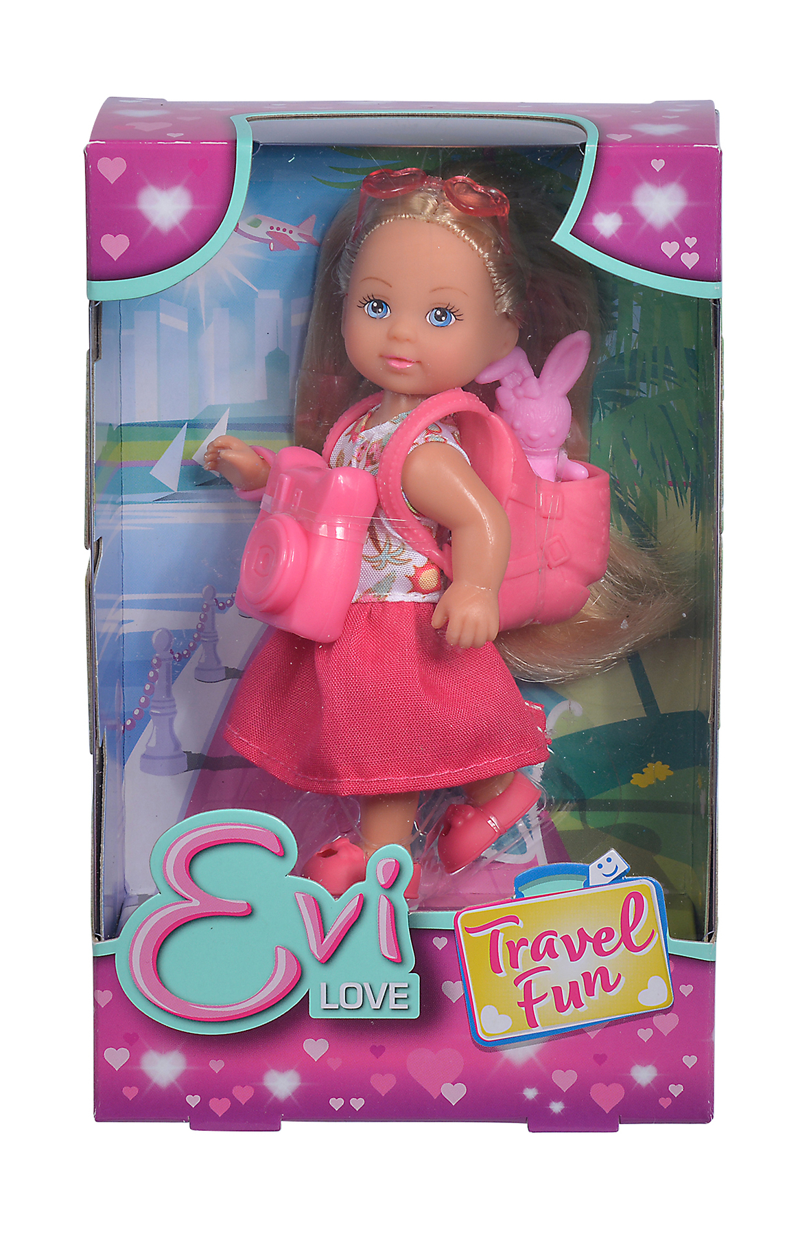 Evi Love Puppe Travel Fun 12cm