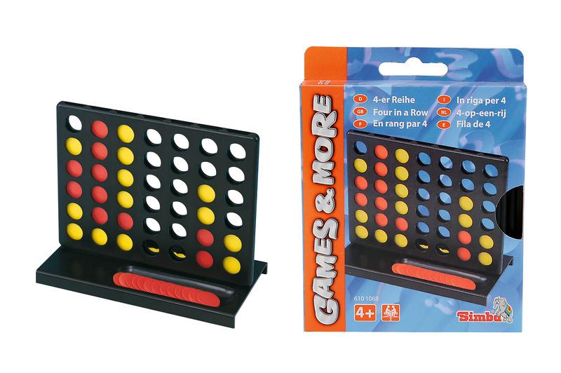 Games & More 4-er Reihe
