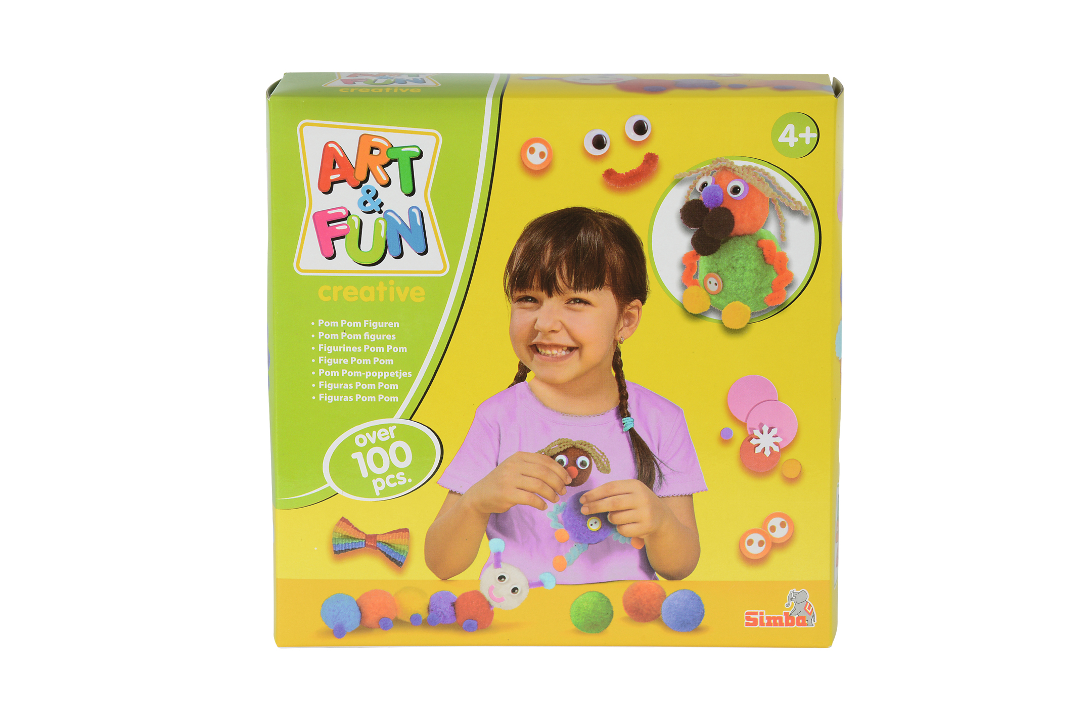 Art & Fun Pom Pom Figuren