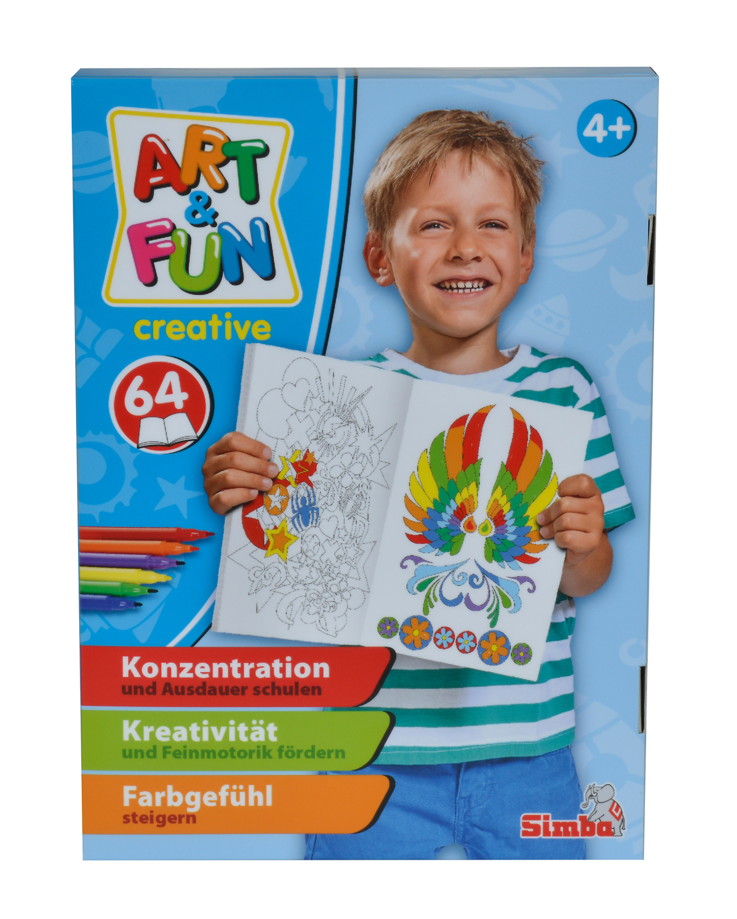 Art & Fun Creative Malbuch