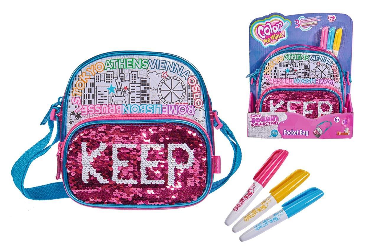 Color Me MIne Swap Poket Bag