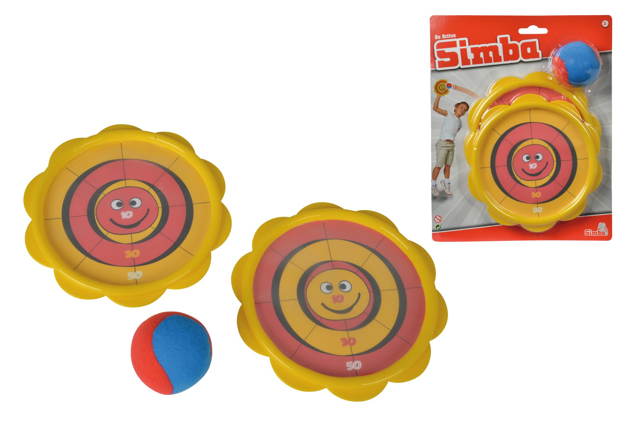 Klettball Wurf- und Fangspiel