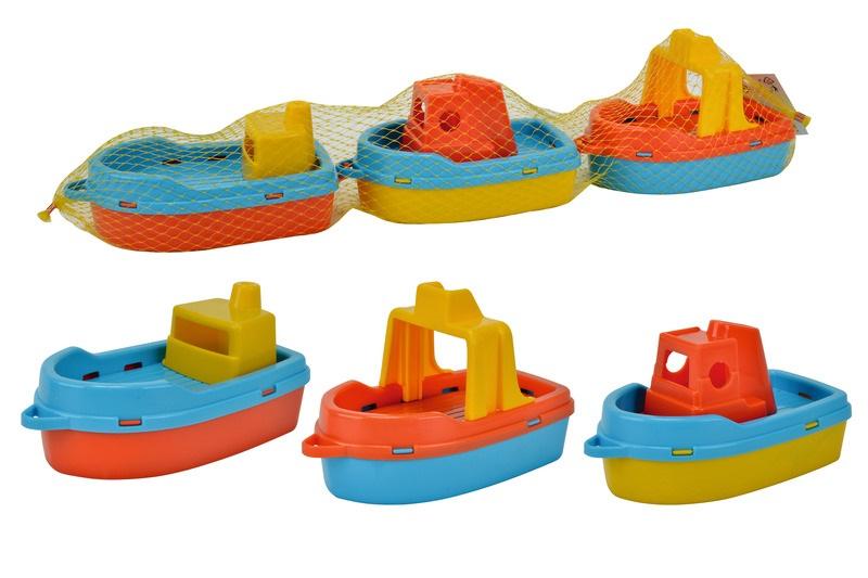 Boote im Netz