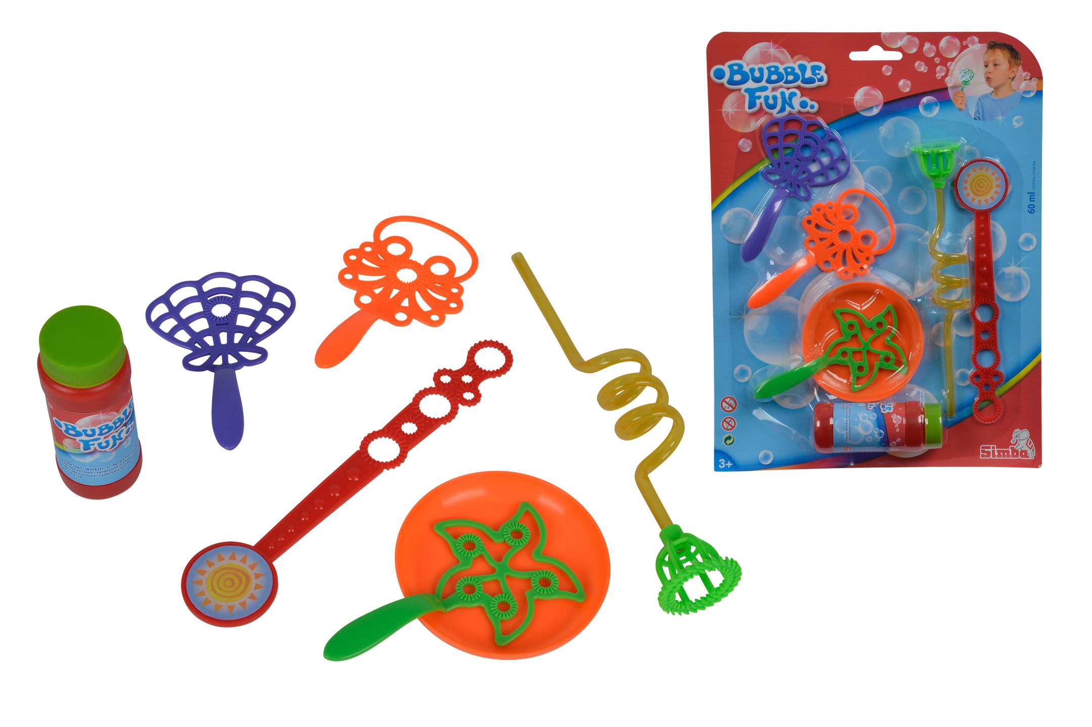 Bubble Fun - Seifenblasen Set