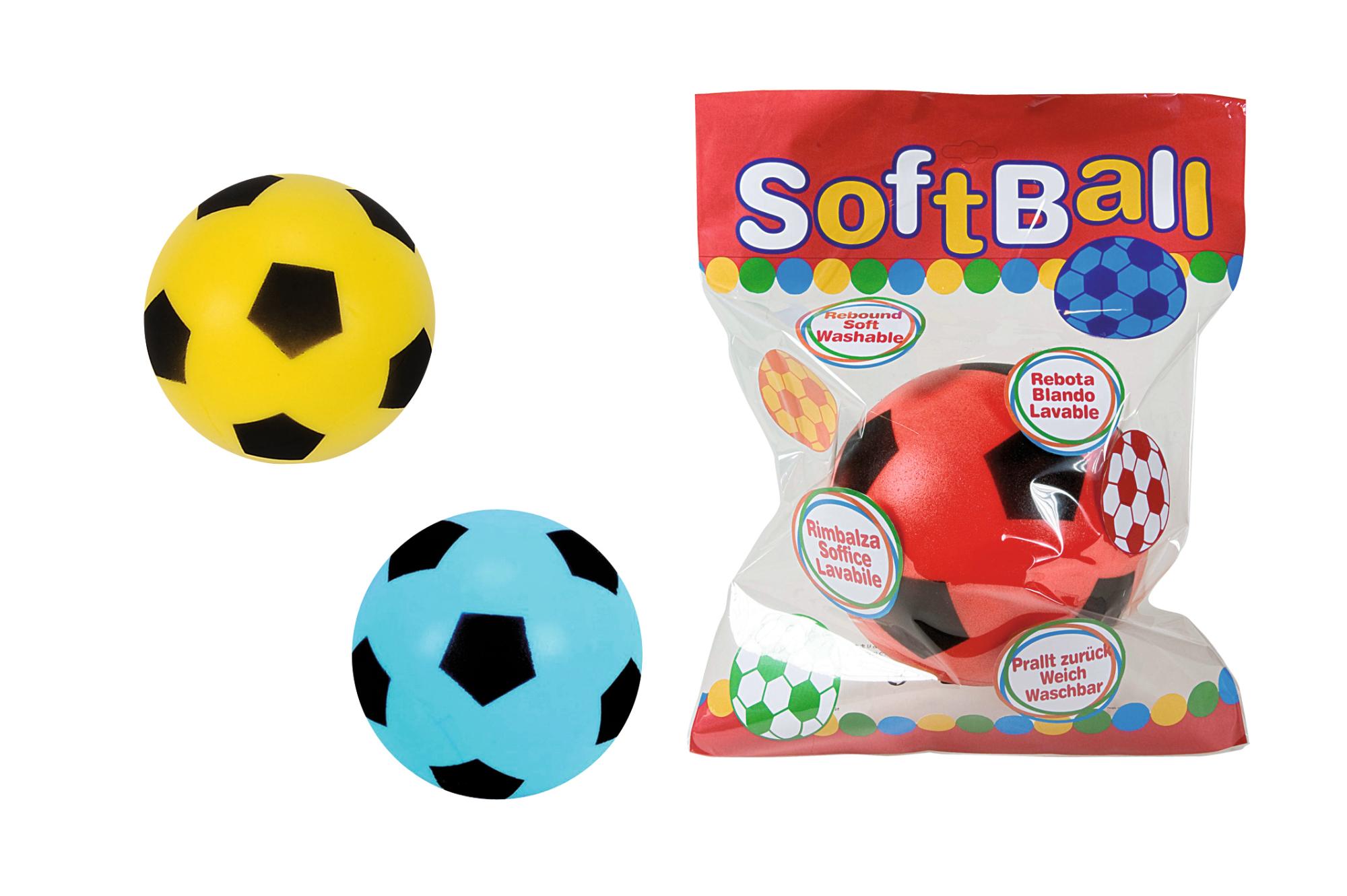 Soft-Fußball 20cm 3fs