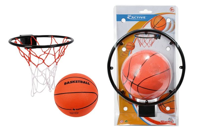 Basketball mit Korb