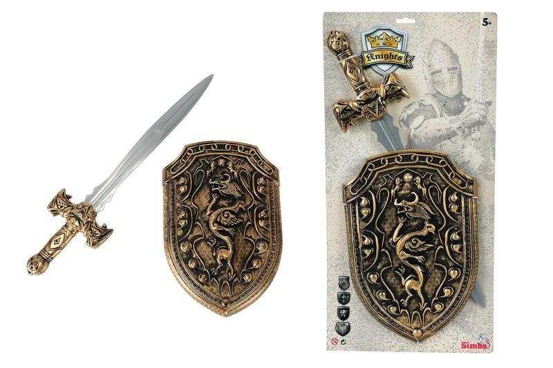 Ritterschwert mit Schild
