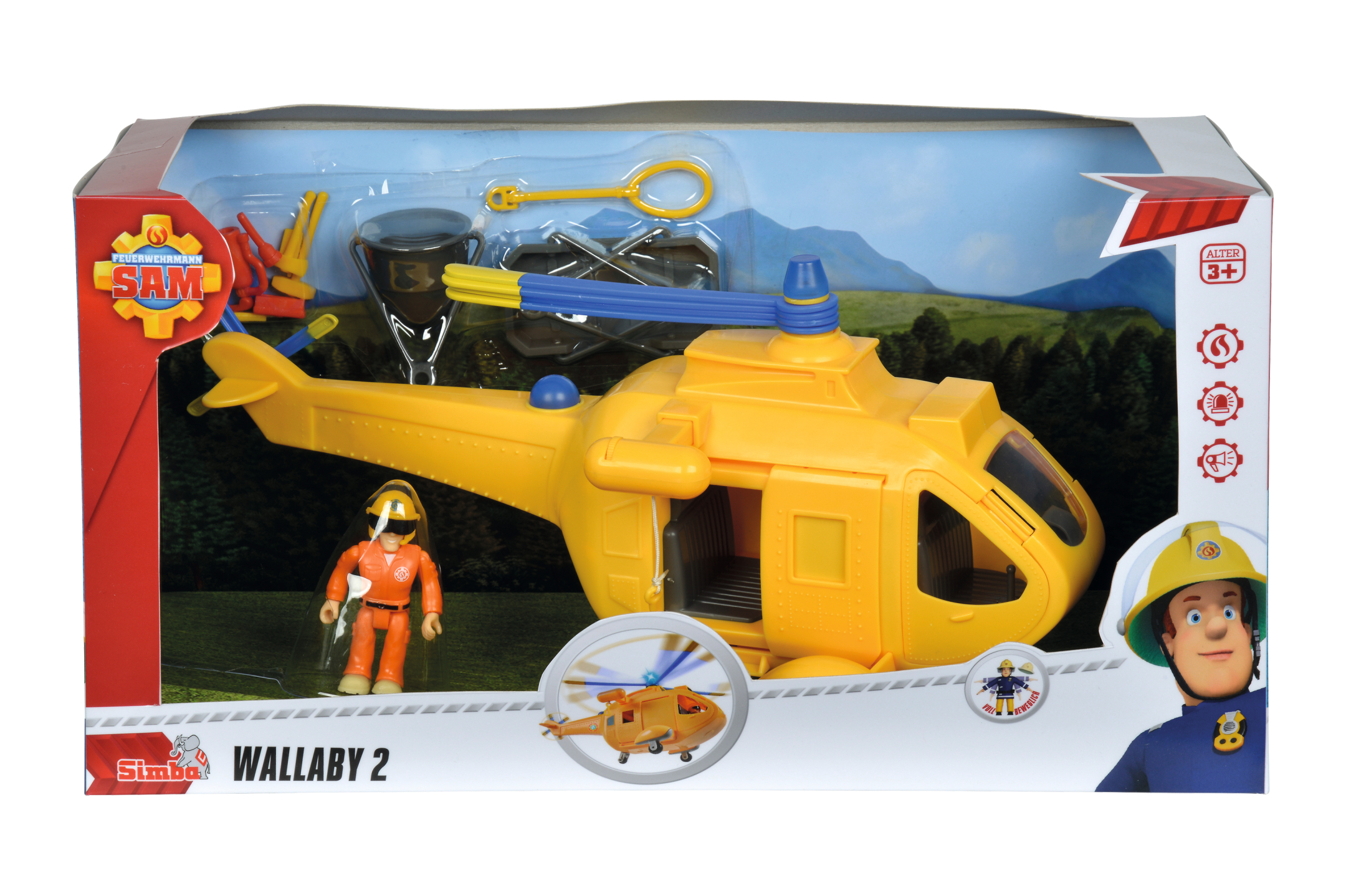 Fireman Sam Helikopter Wallaby II
