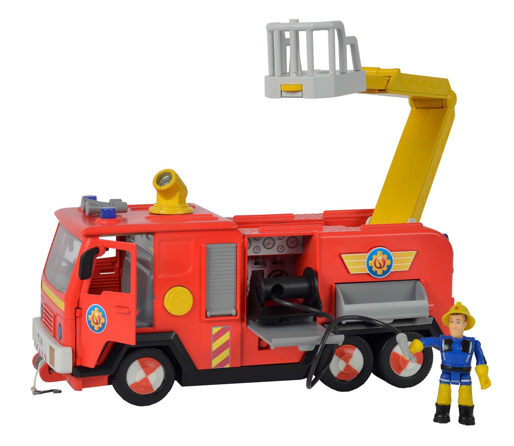 Fireman Sam Jupiter 2.0 mit Figuren
