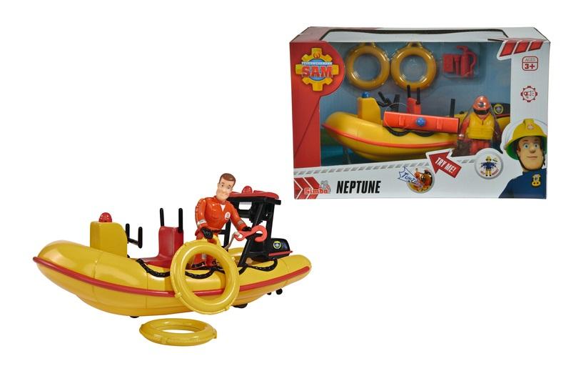Fireman Sam Boot Neptune Figur & Sound