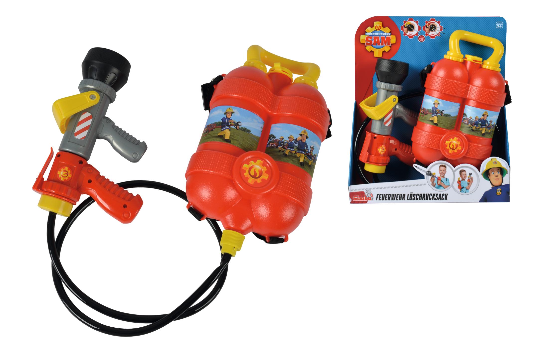 Fireman Sam Tankrucksack