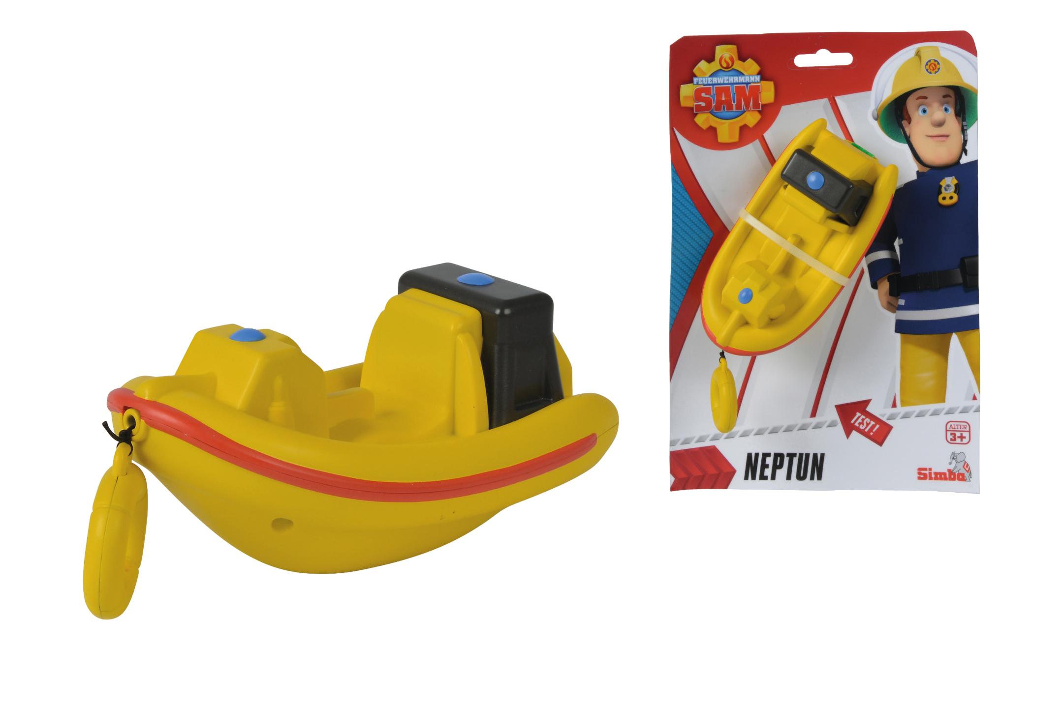 Fireman Sam Aufzieh-Boot Neptun