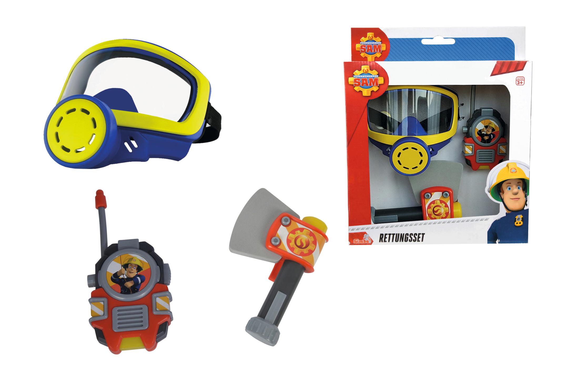 Fireman Sam Feuerwehr Sauerstoffmaske