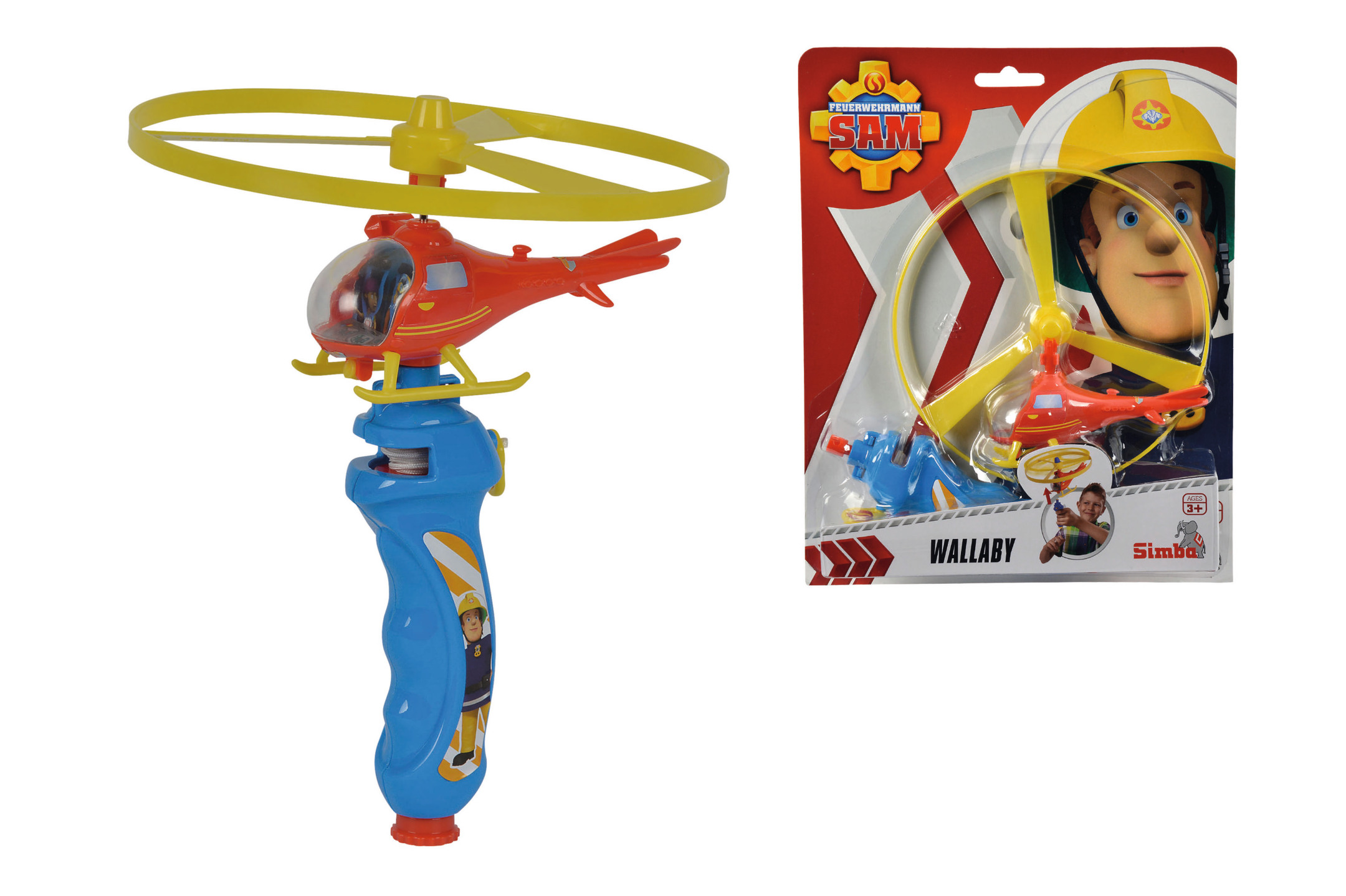 Fireman Sam Wallaby Flugspiel