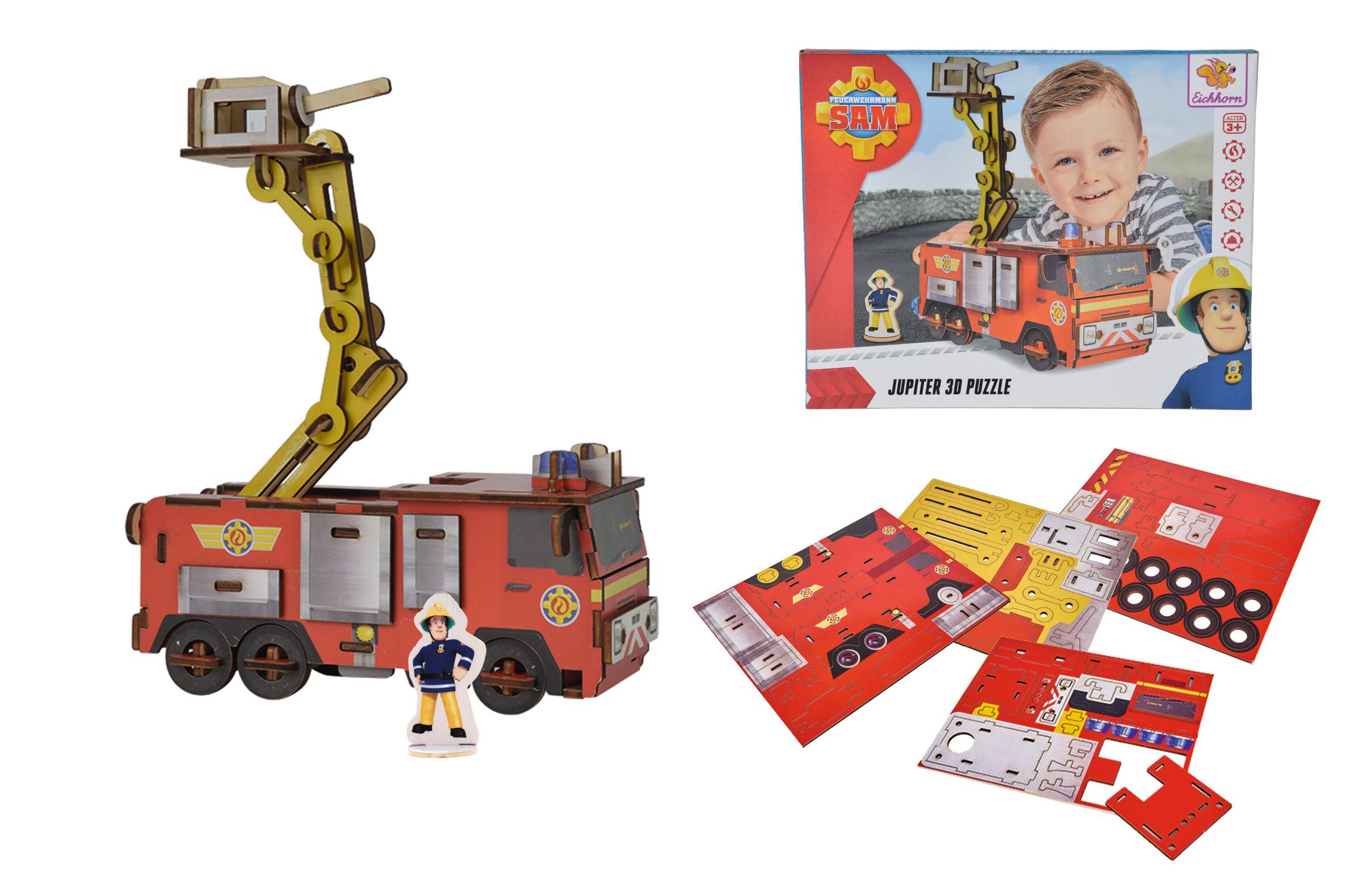 Fireman Sam 3D Puzzle Jupiter