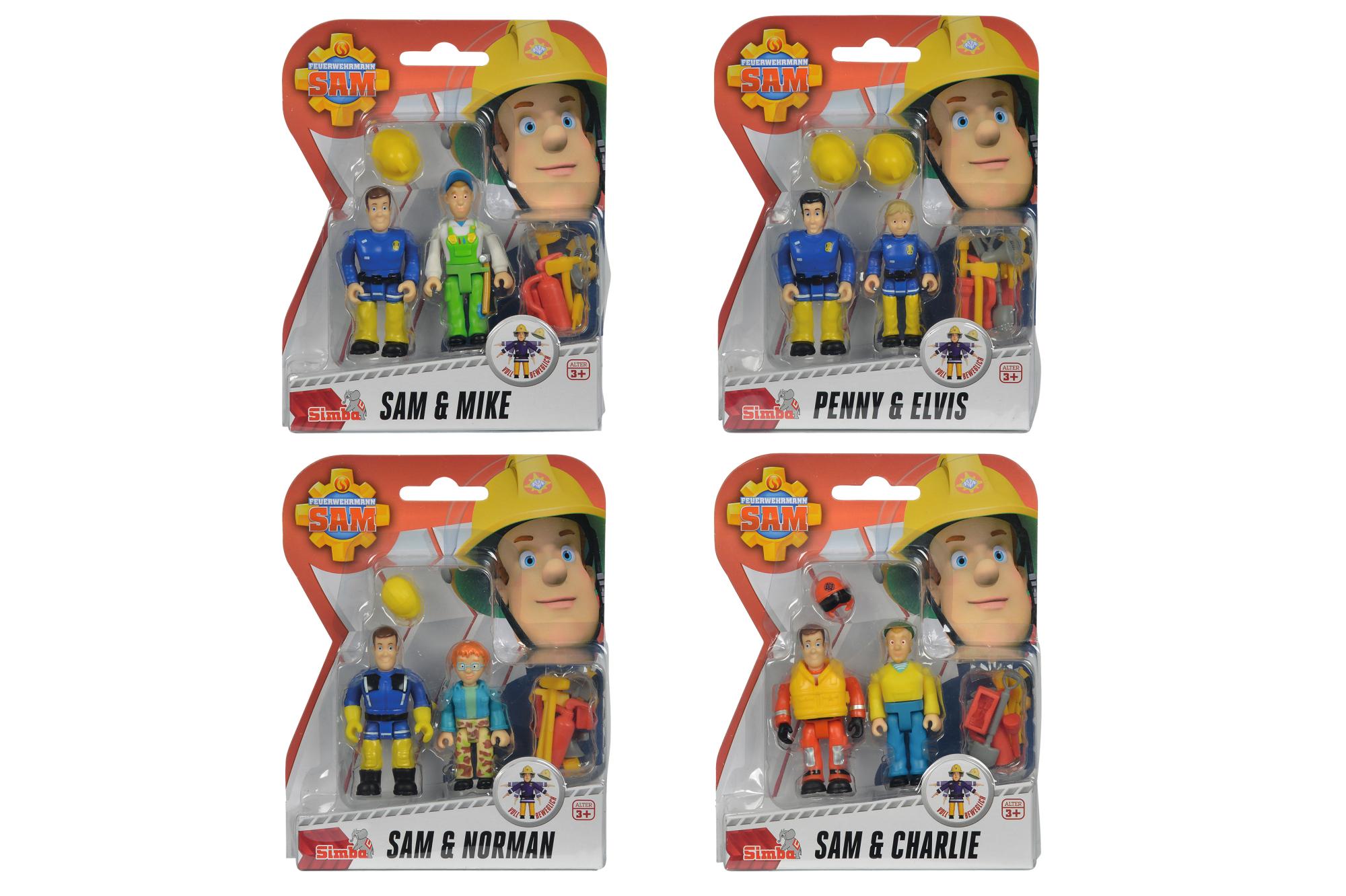 Fireman Sam Figuren Doppelpack 4fs