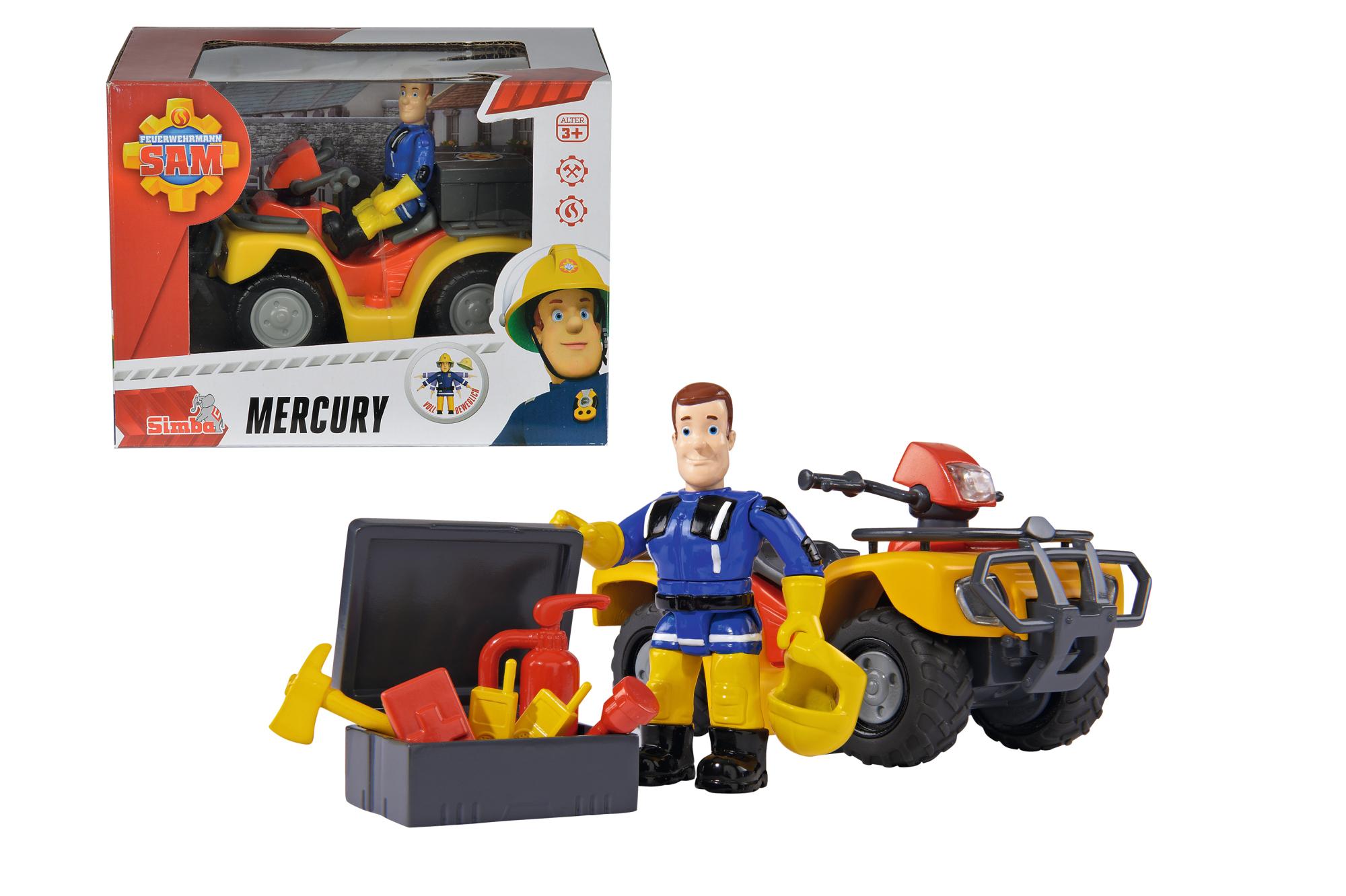 Fireman Sam Mercury Quad