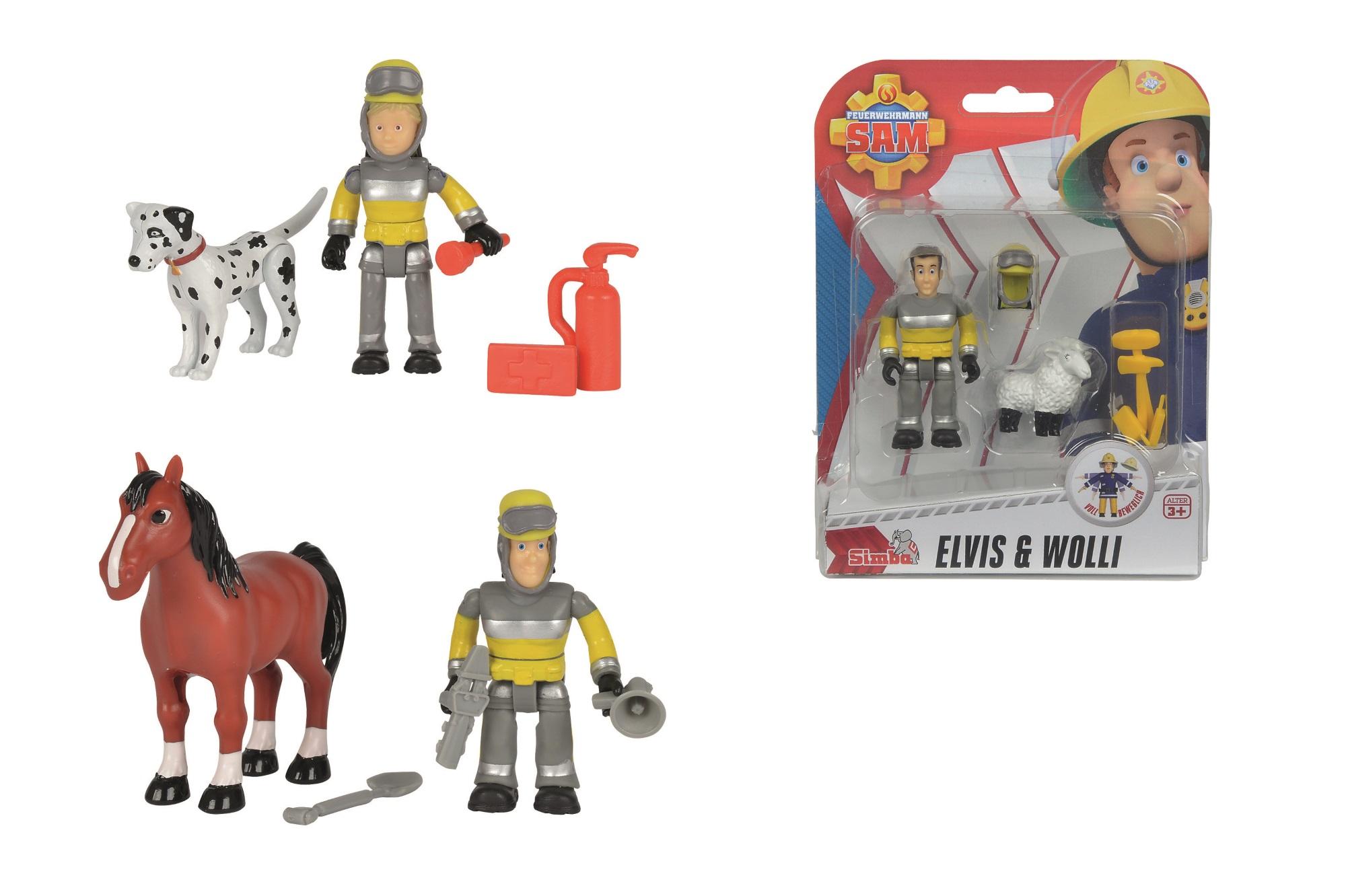 Fireman Sam Figuren Set 3fs