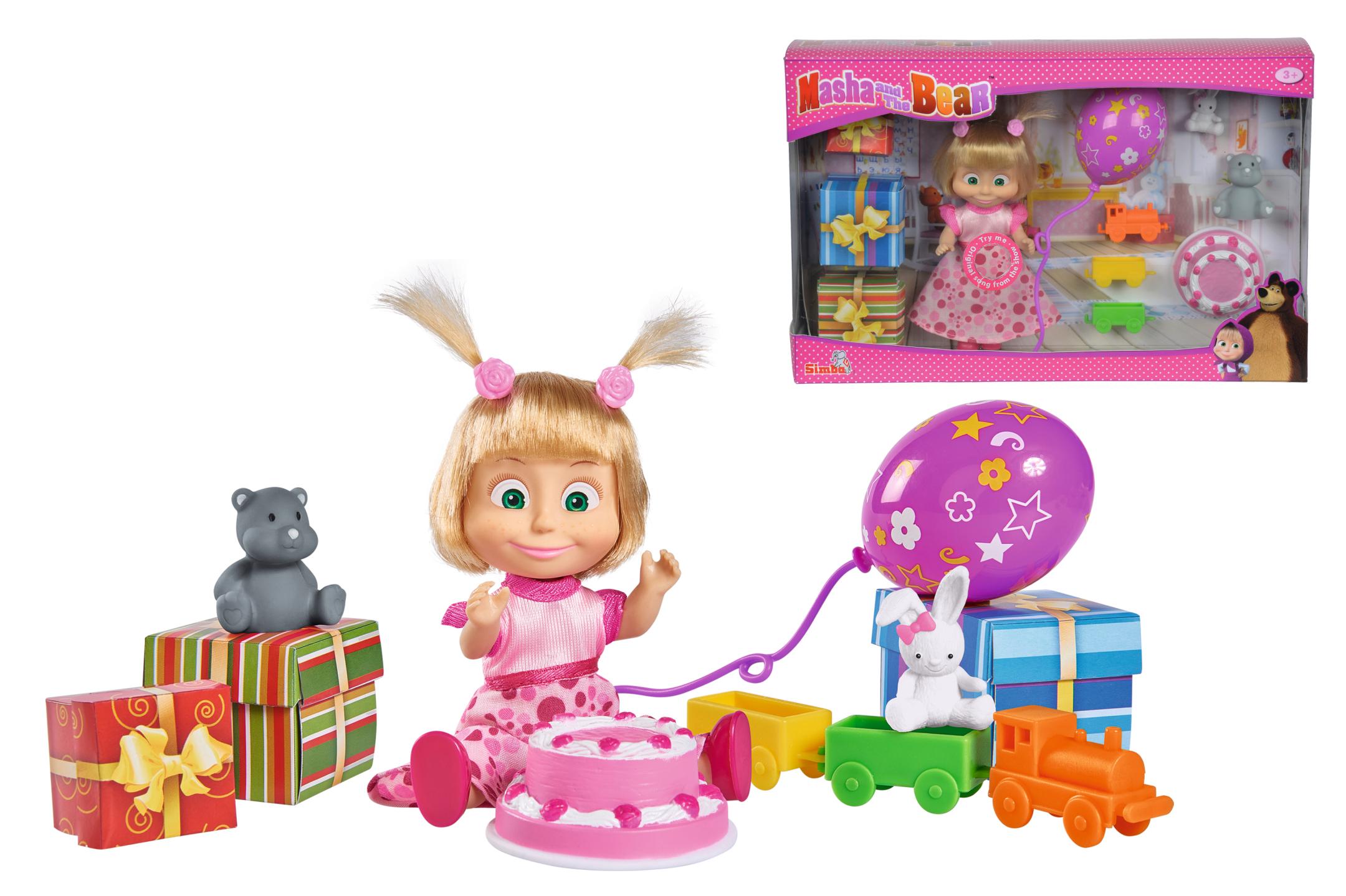 Masha und der Bär Geburtstags Set