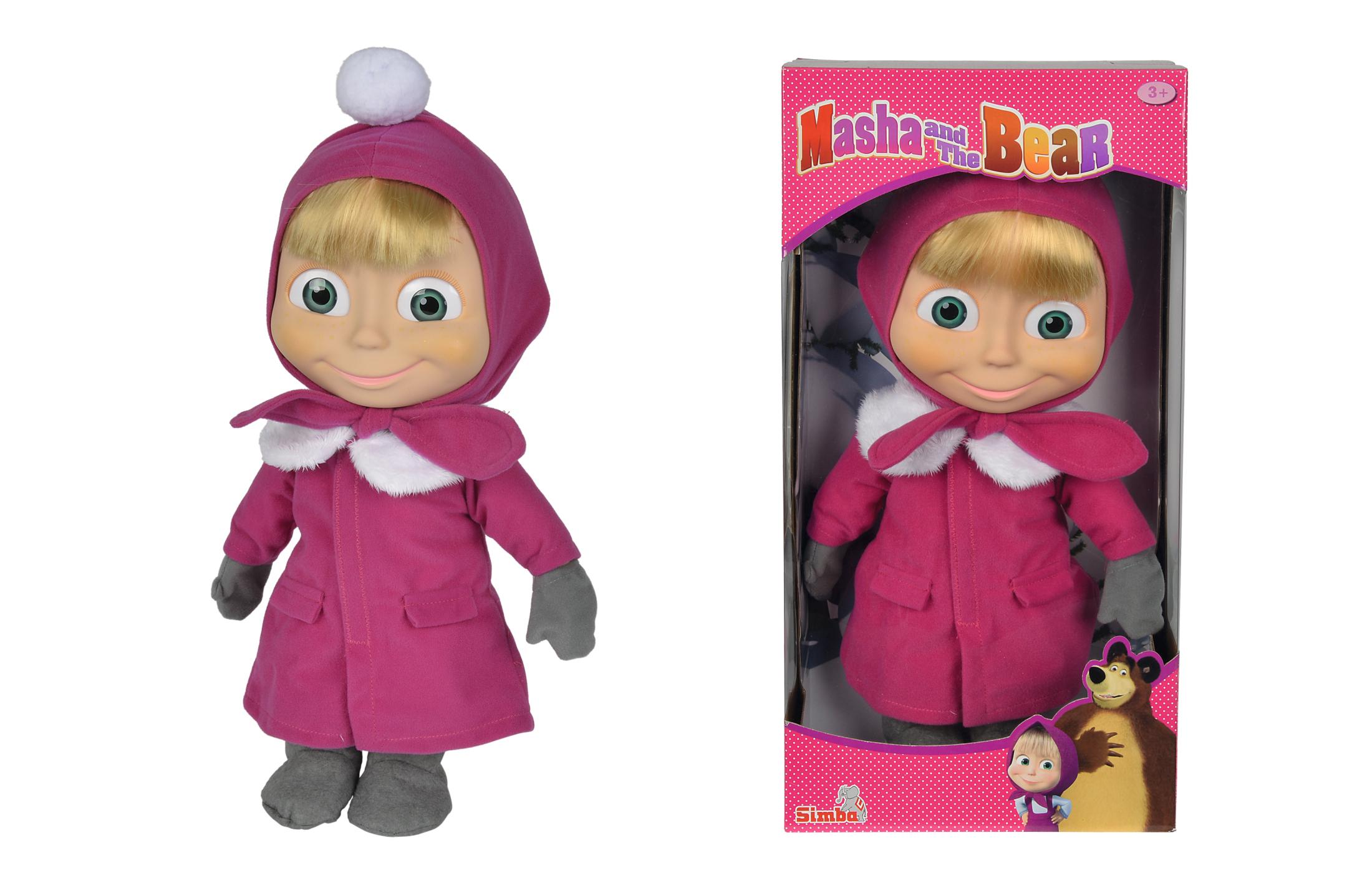 Masha und der Bär Puppe 40cm