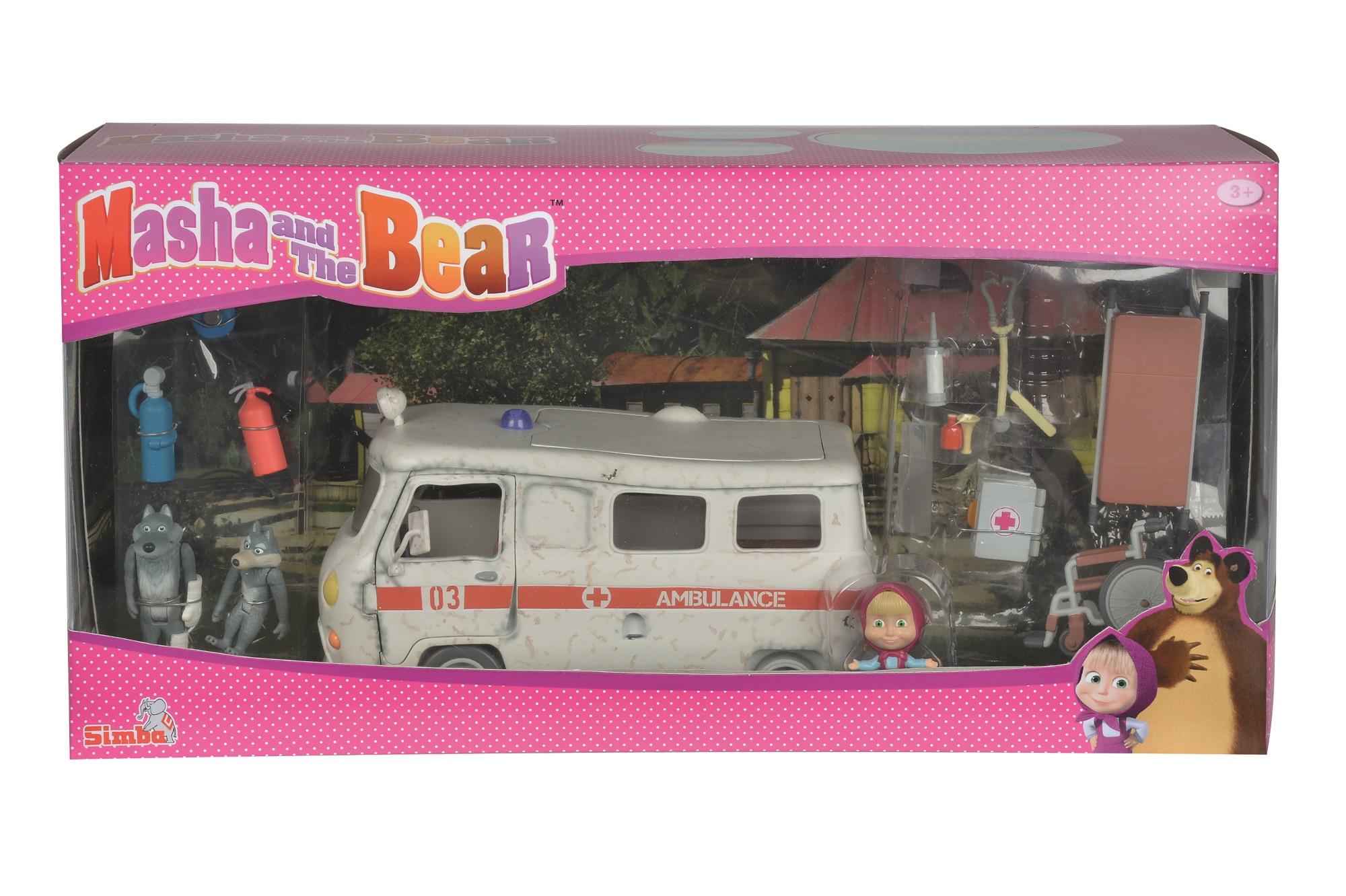 Masha und der Bär - Krankenwagen