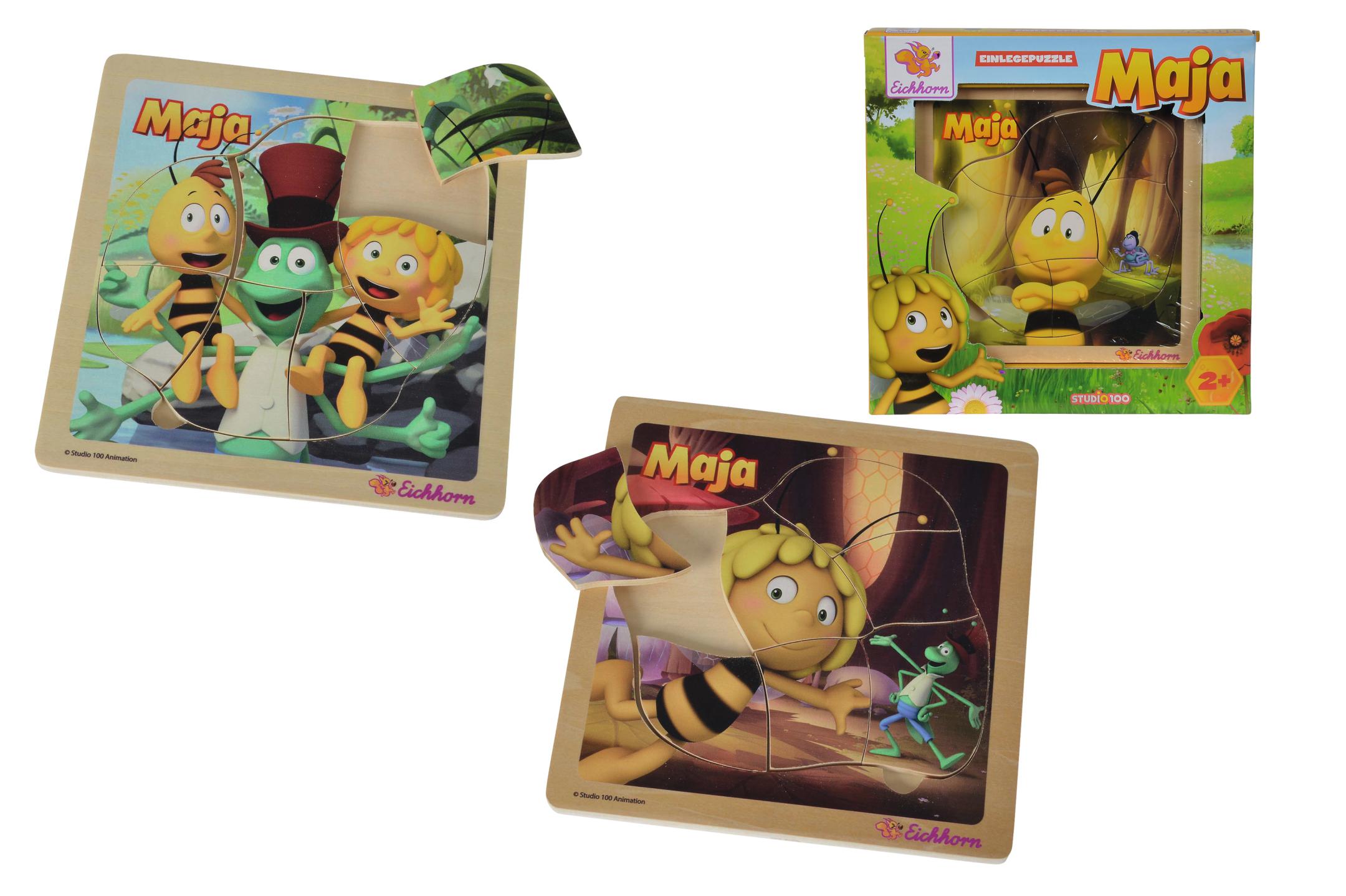 Biene Maja Einlegepuzzle 3fs