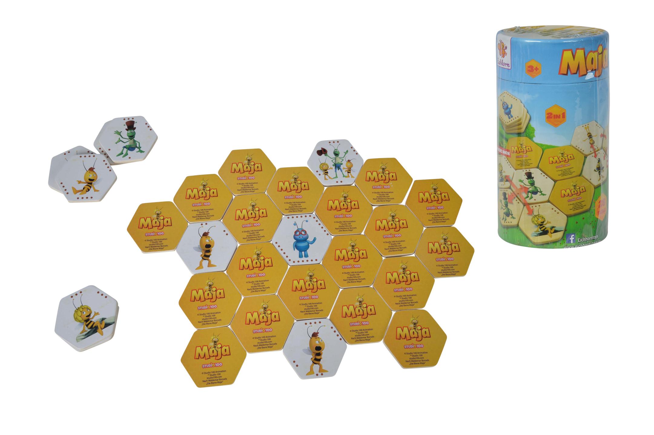 Biene Maja Bilder-Memo-Domino Spiel