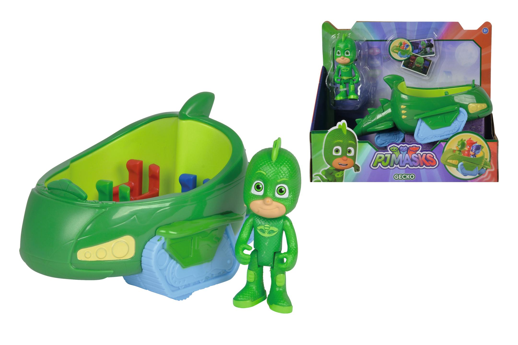 PJ Masks Gecko im Geckomobil