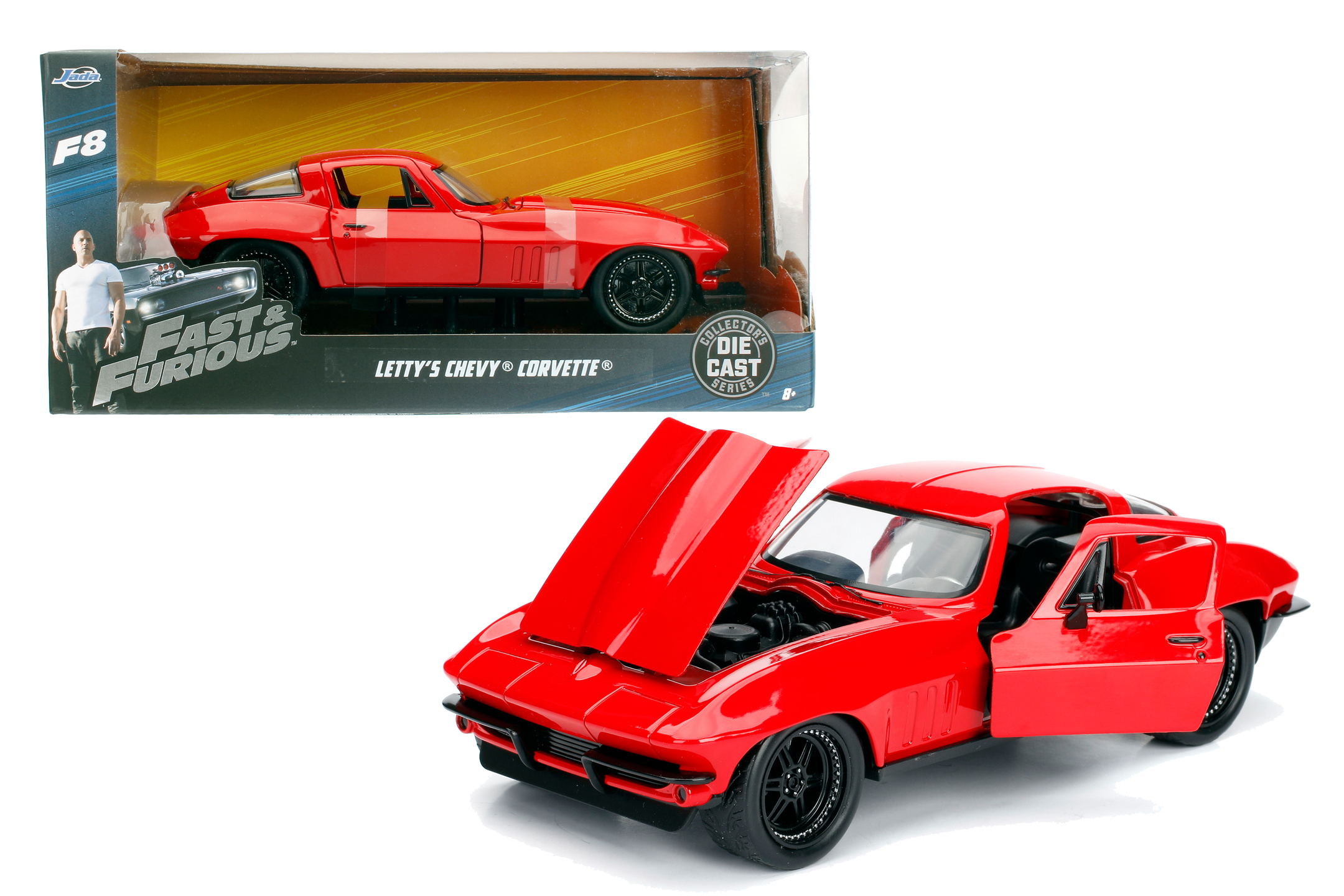 Fast & Furious 1966 Chevy Corvette 1:24