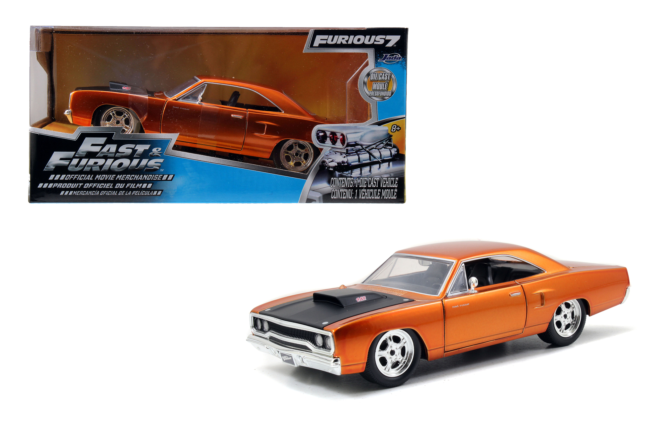 Fast & Furious 1970 Plymouth 1:24