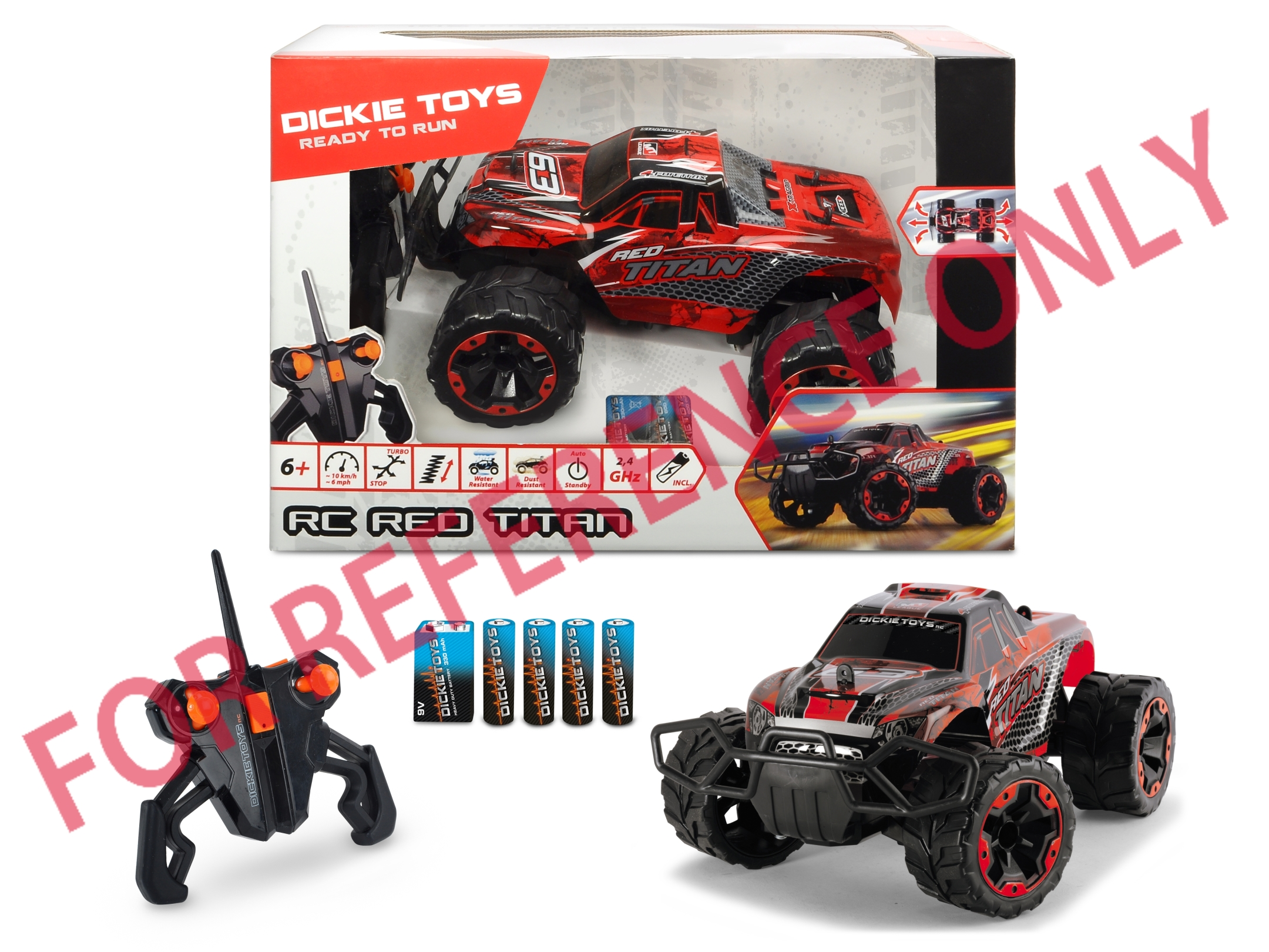RC Red Titan Buggy RTR 2.4GHz