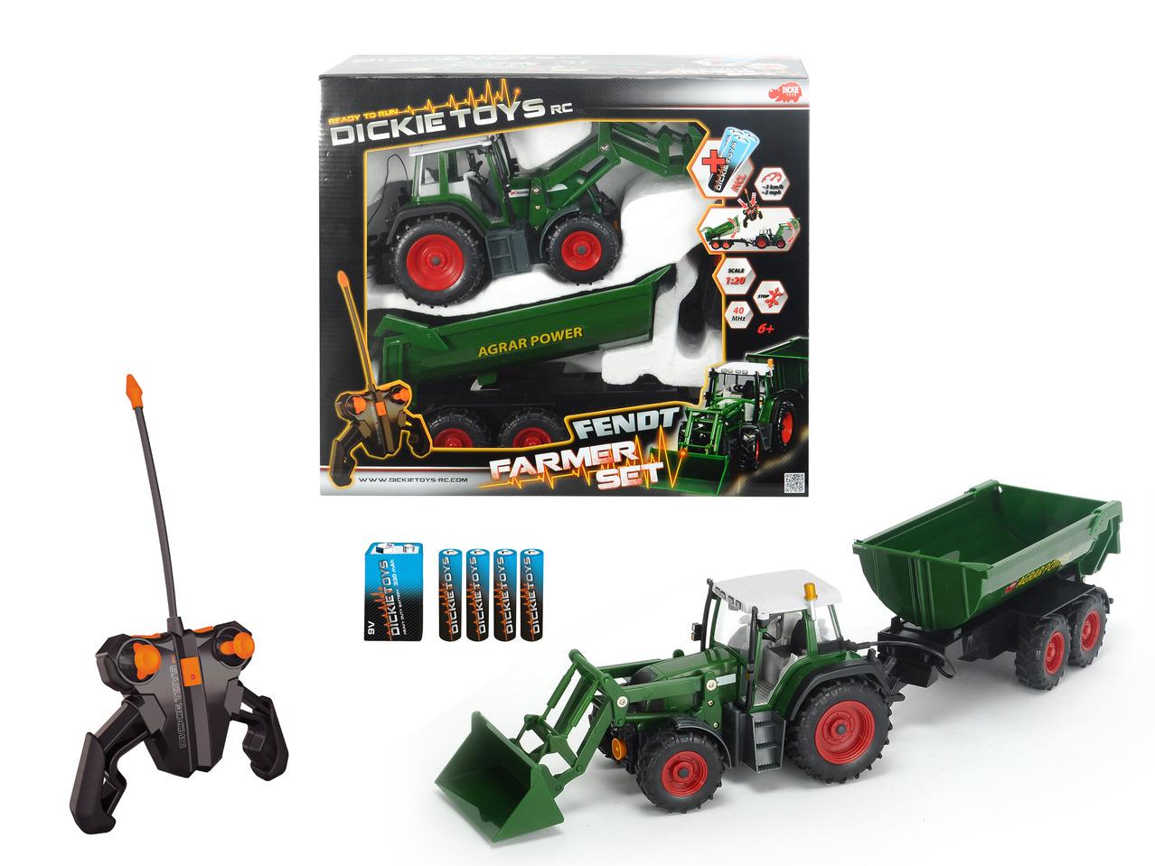 RC Traktor mit Anhänger RTR