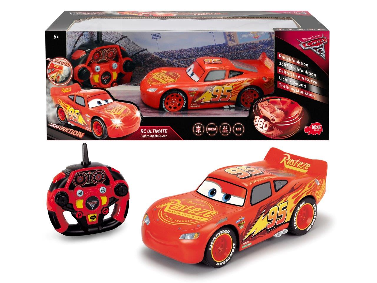 RC Cars 3 Feature Lightning McQueen
