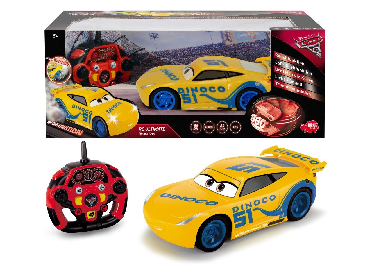 RC Cars 3 Feature Cruz Ramirez