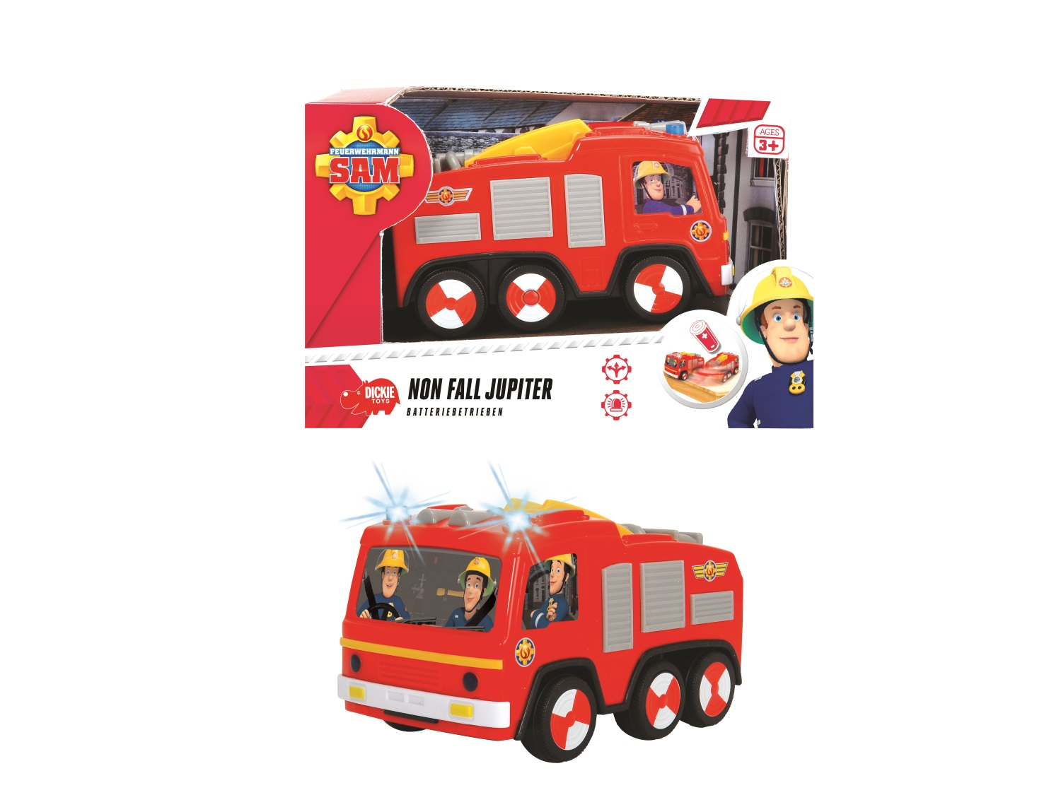 Fireman Sam Non Fall Jupiter