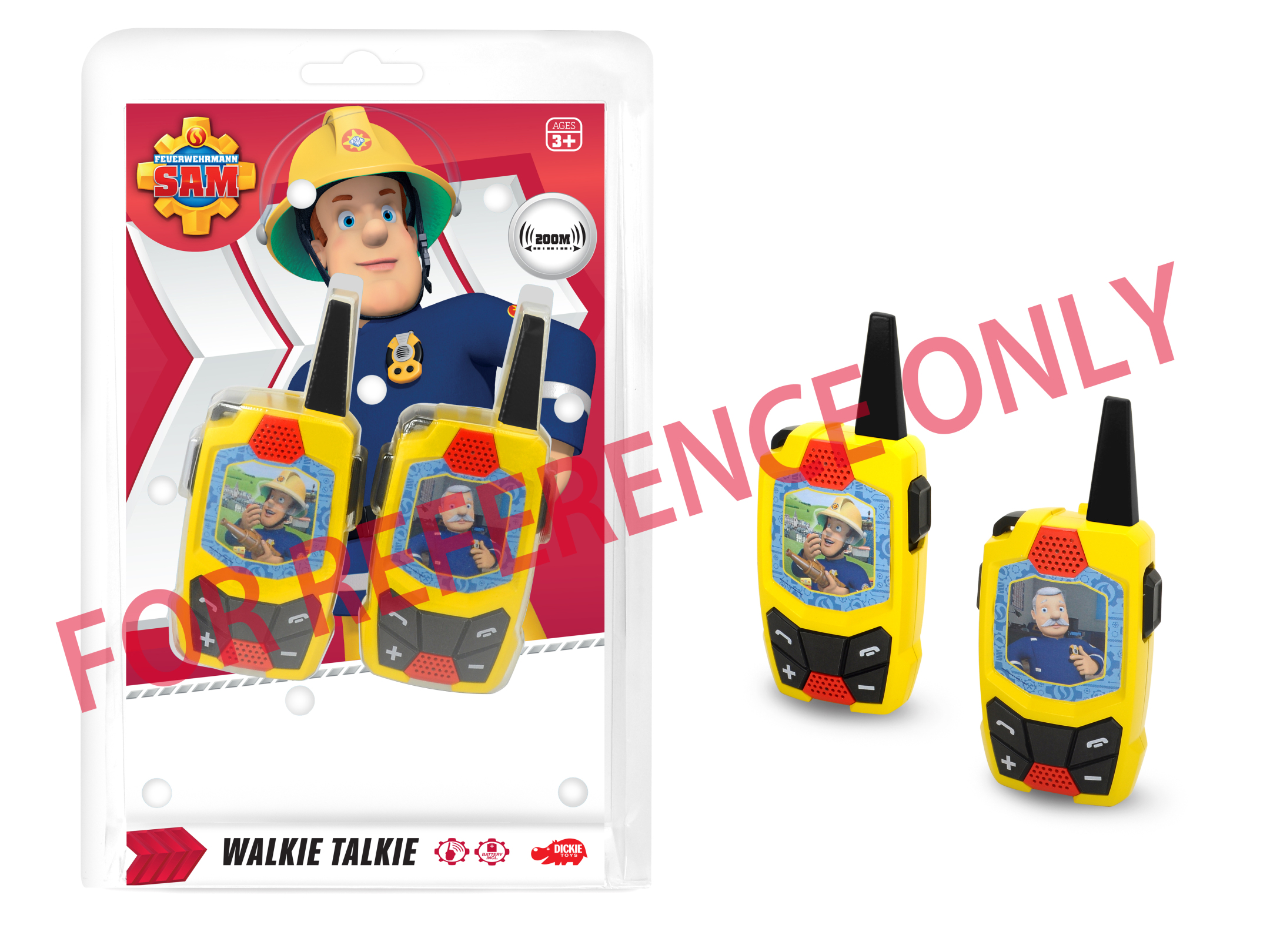 Fireman Sam Walkie Talkie