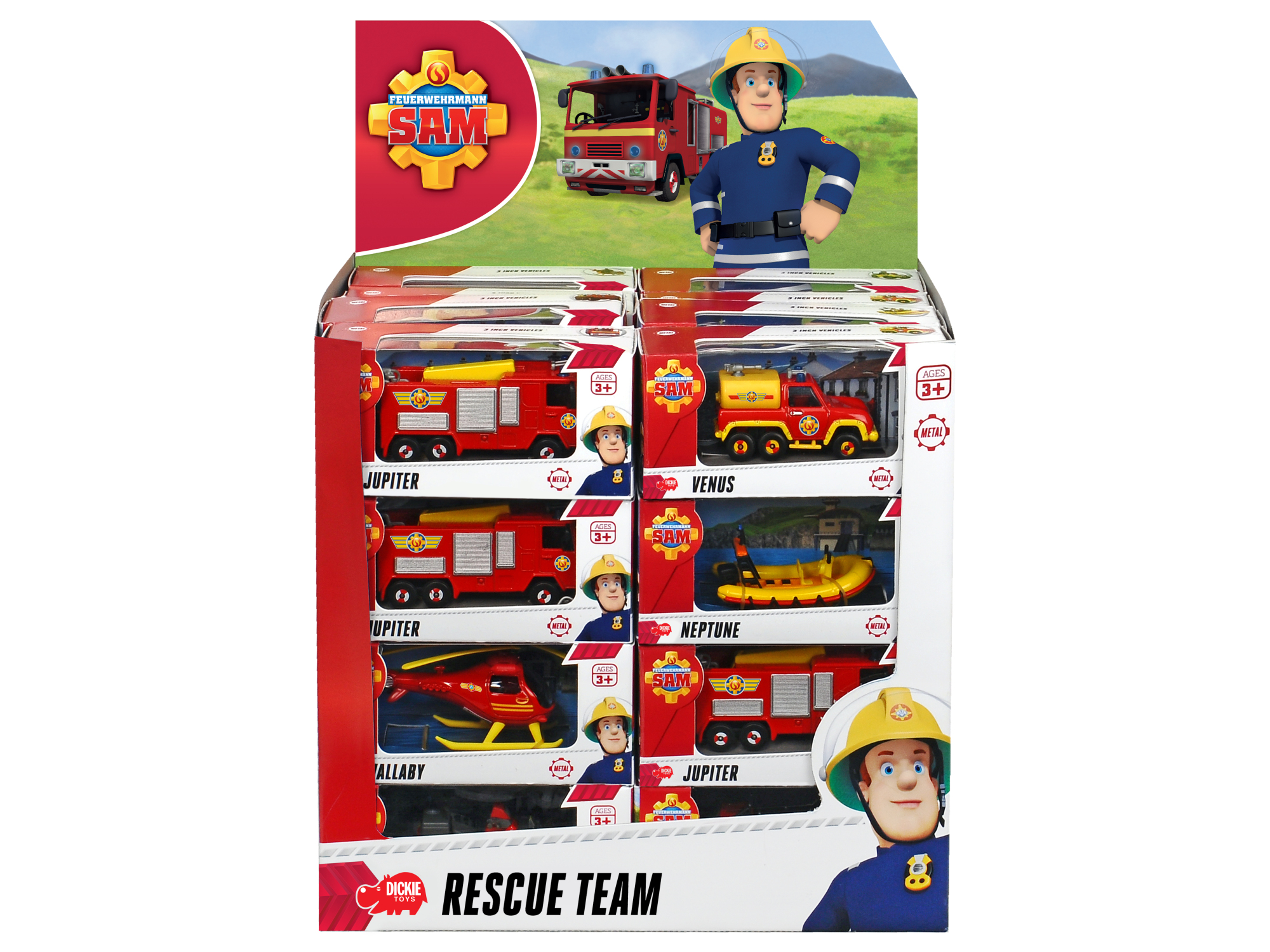 Fireman Sam Cashier Display 8fs