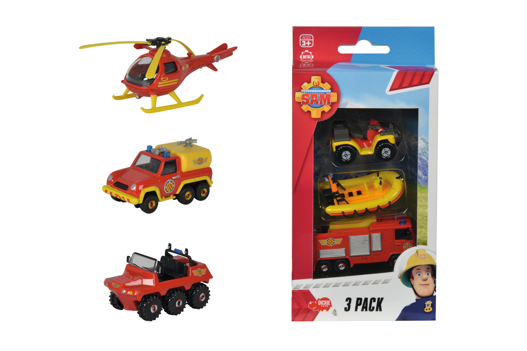 Fireman Sam 3 Pack 3fs