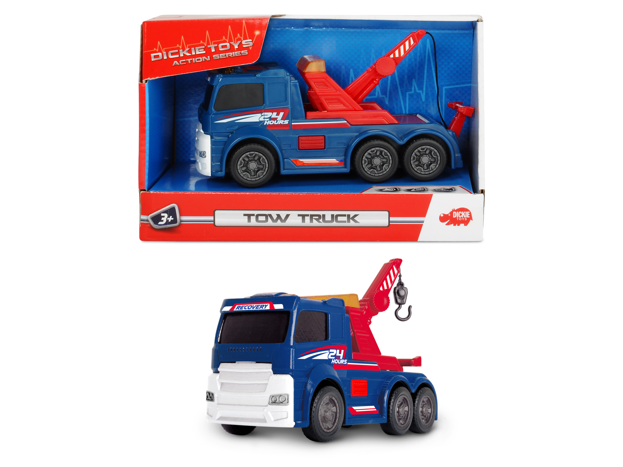 Action Serie LKW Abschlepper Tow Truck