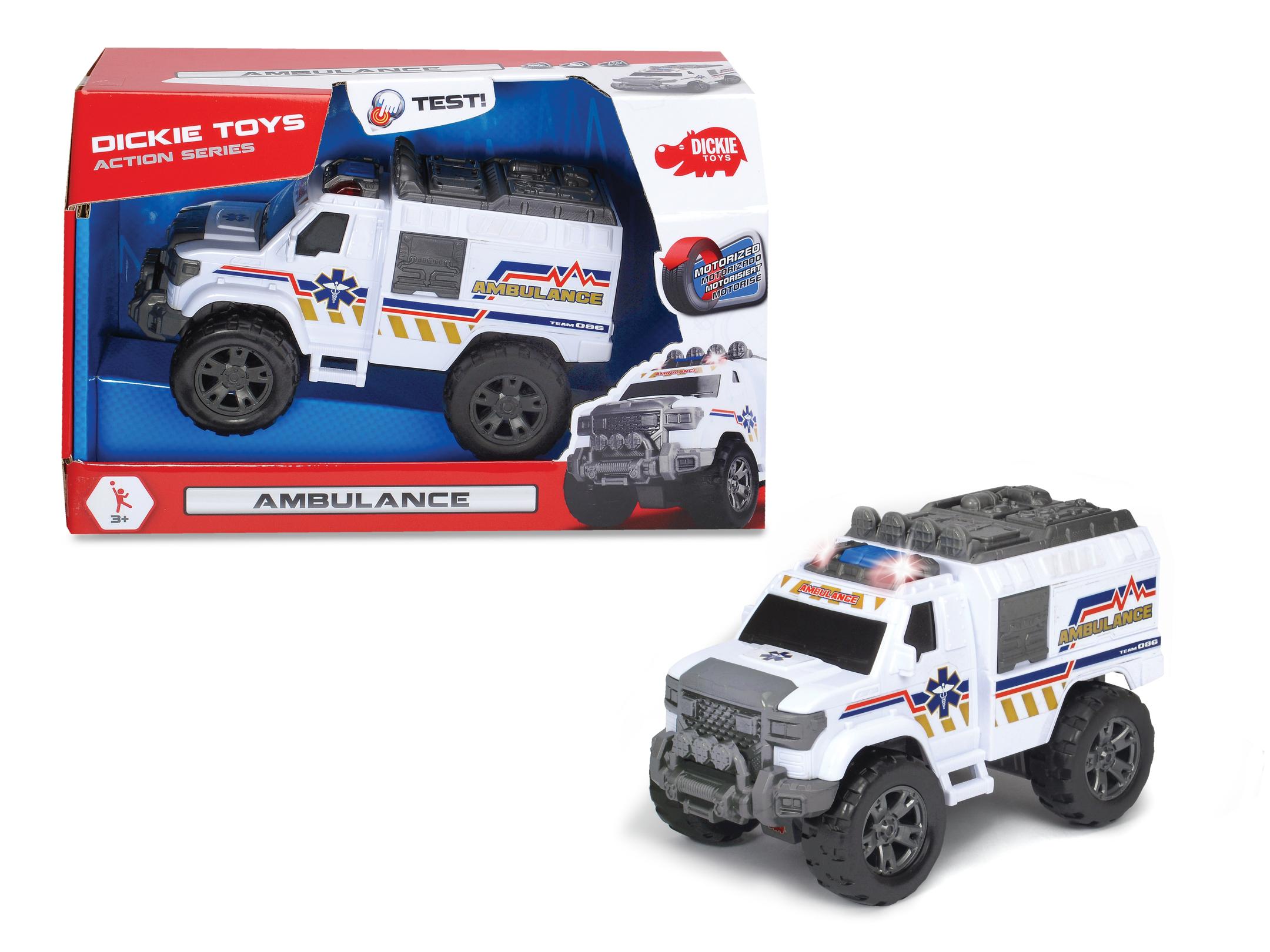 Action Serie Krankenauto