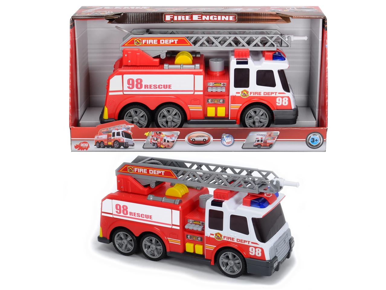 Action Serie Feuerwehr Licht und Sound