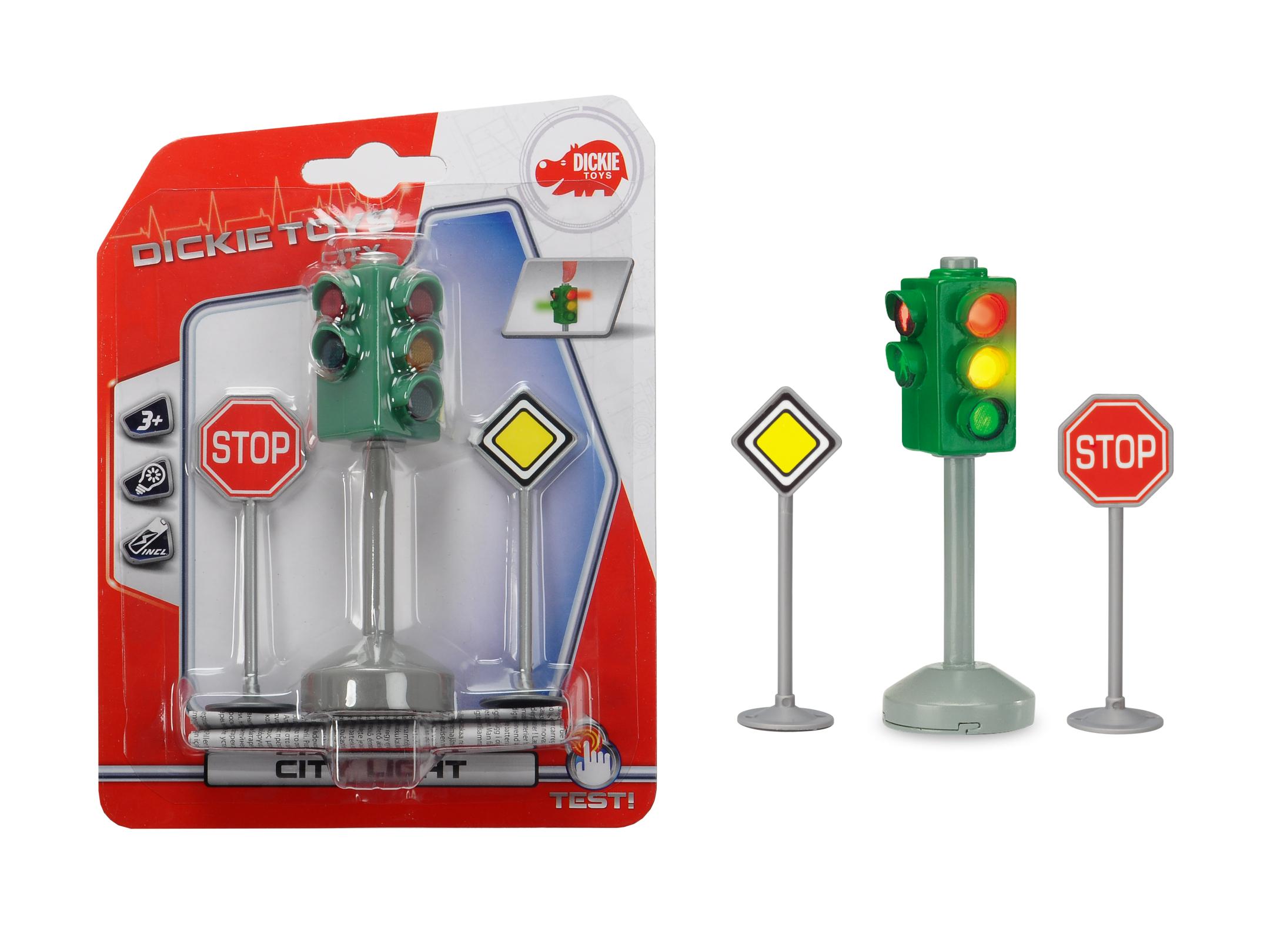 City Light - Ampel mit Verkehrszeichen