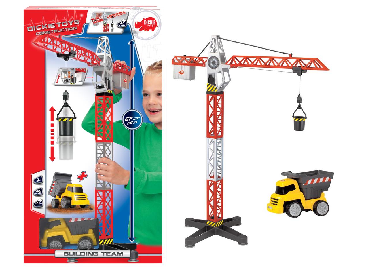 Construction Kran mit Baufahrzeug