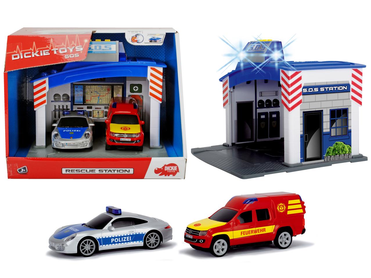 Polizei- und Feuerwehrstation