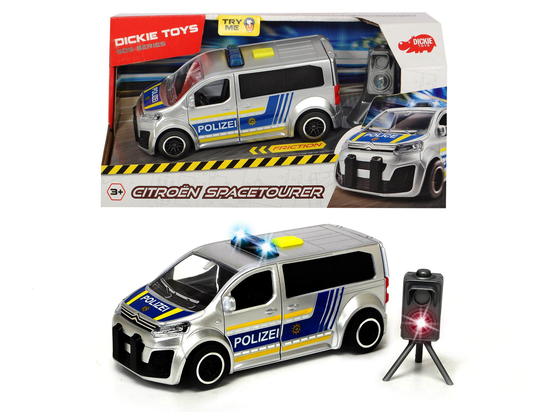 Citroën SpaceTourer - Polizei