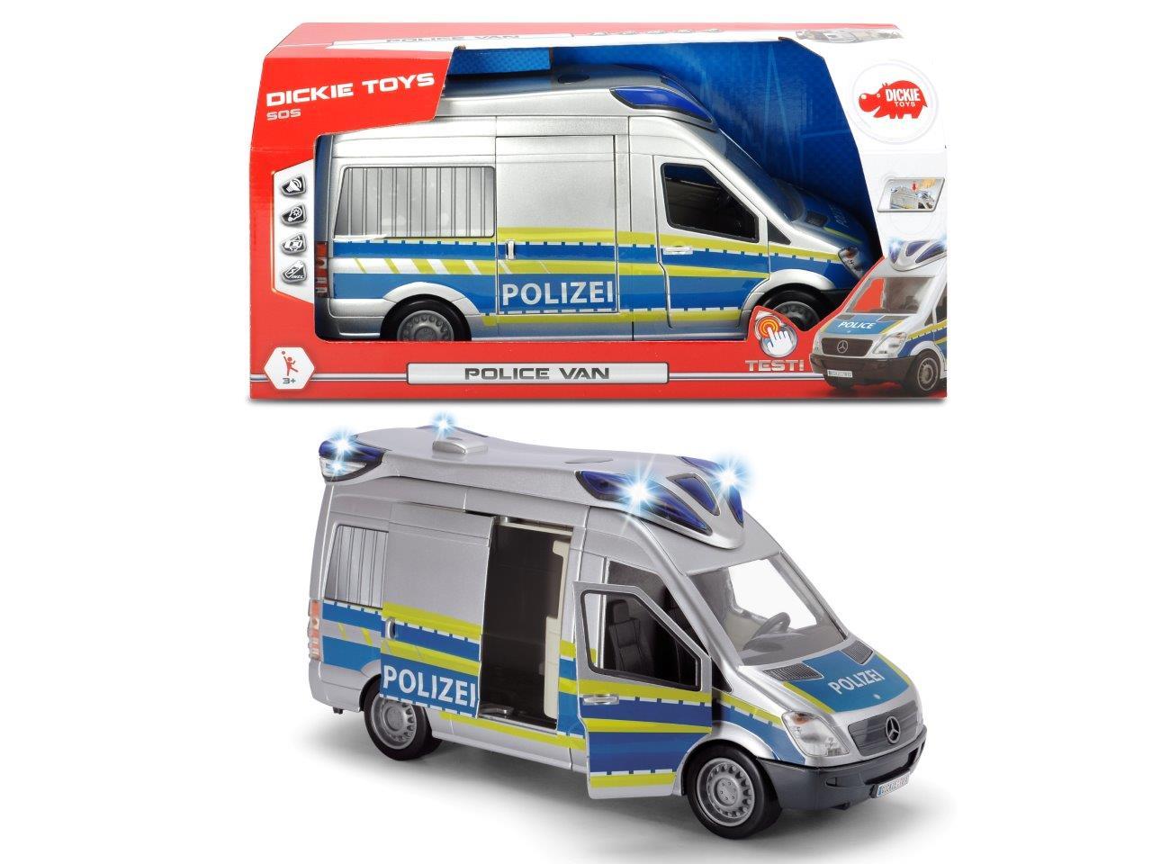 Police Van Einsatzfahrzeuge