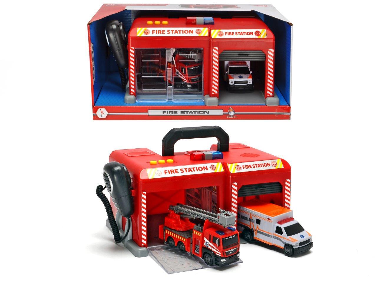 Feuerwehr Station mit Micro