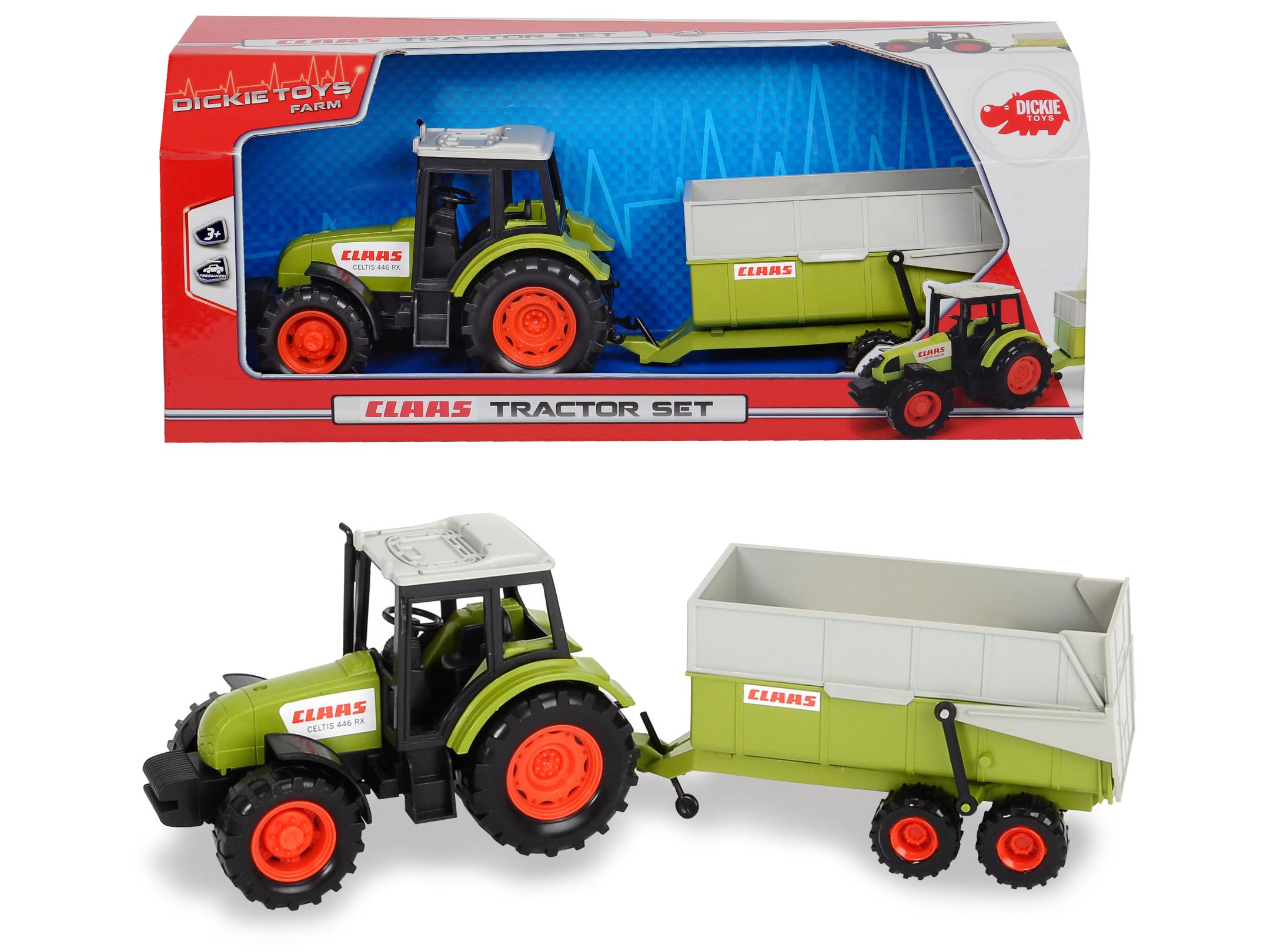 Claas Traktor mit Hänger