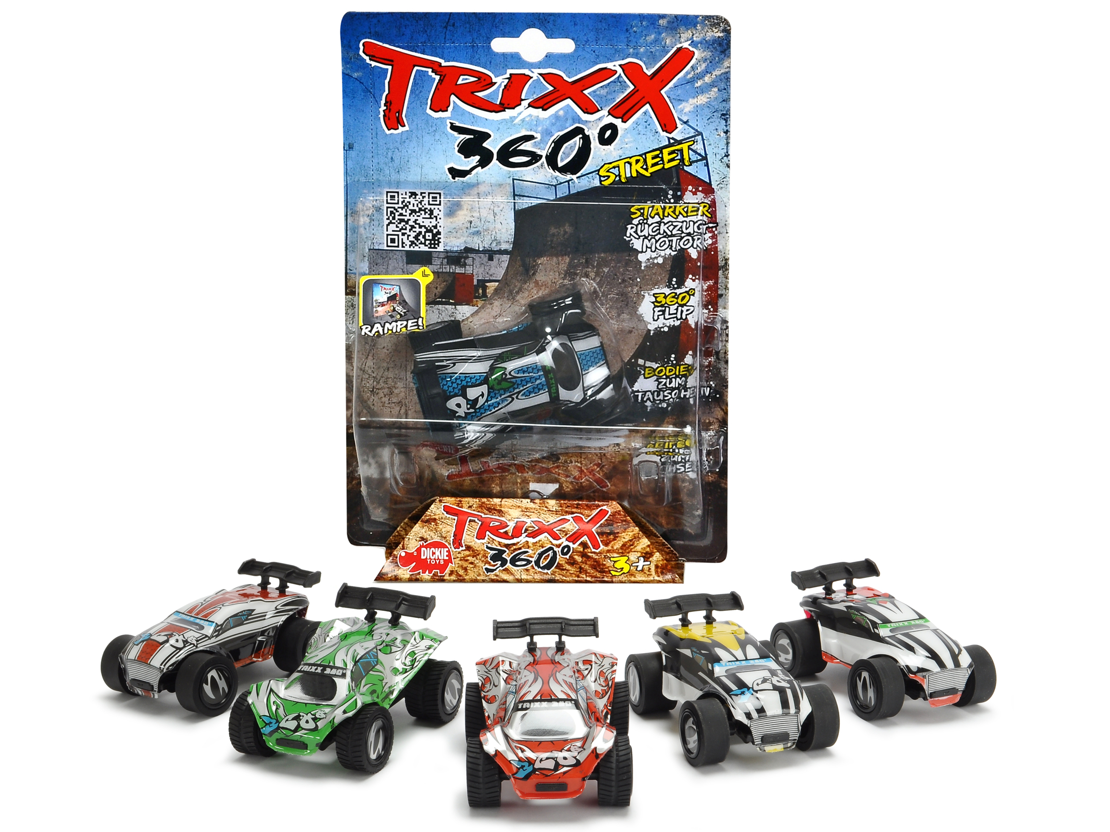 TRXX01 Trixx 360 - Short Ramp 6fs